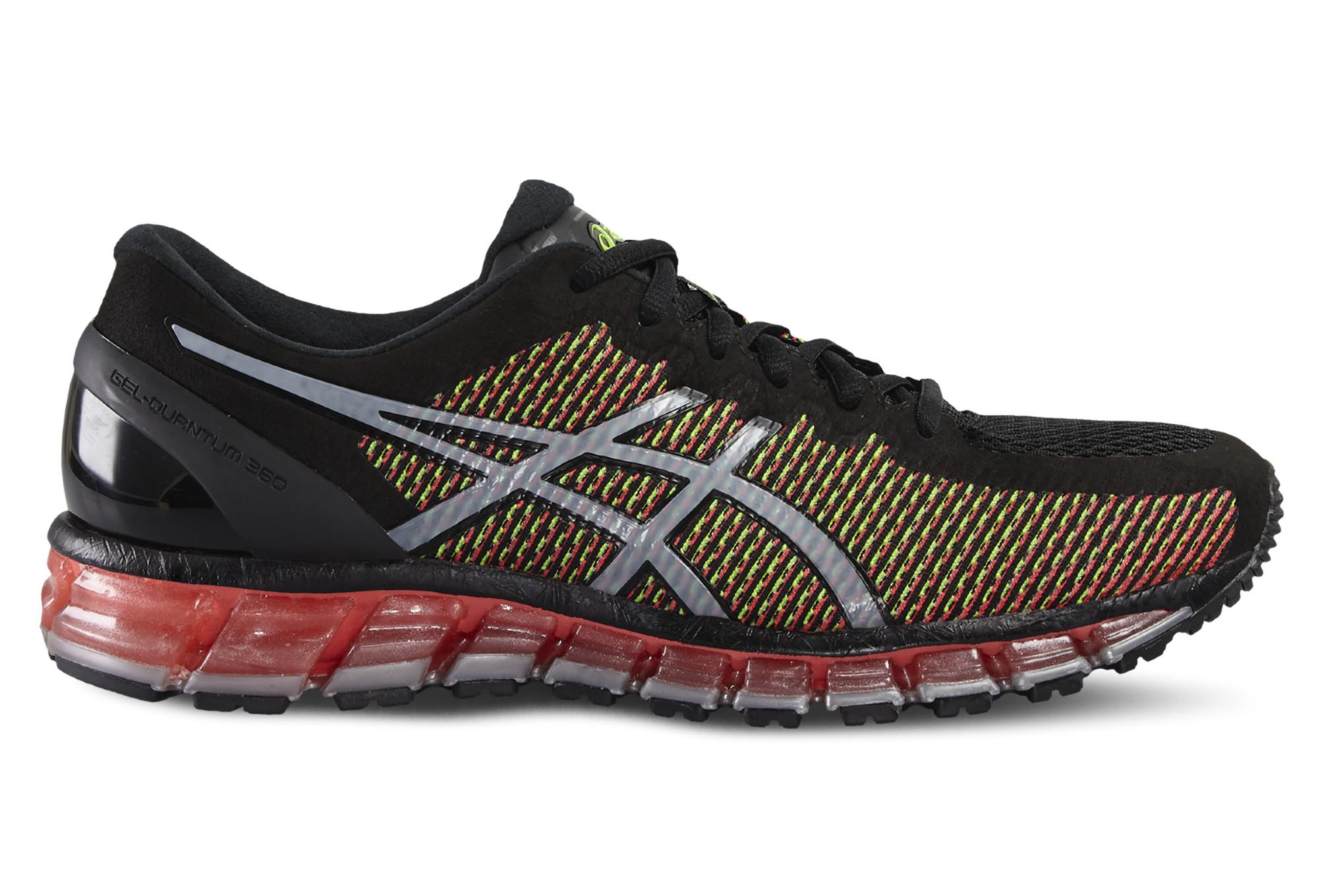 Chaussures de running asics gel quantum 360 2 noir - Gel aloe vera pas cher ...