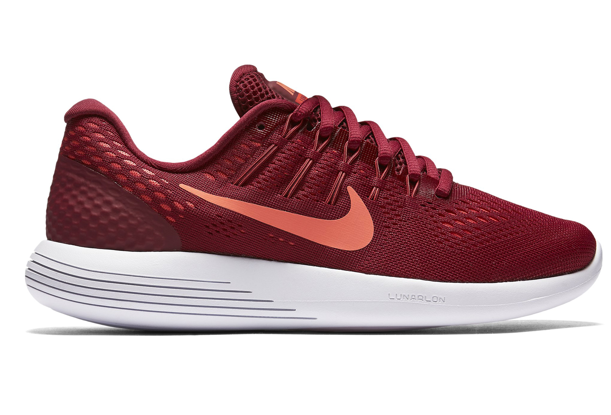 Femme Nike 8 De Rouge Running Lunarglide Chaussures 29IeDWEHY