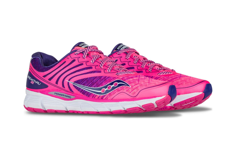 Saucony Breakthru 2 Wo menRunning Shoes Pink Navy