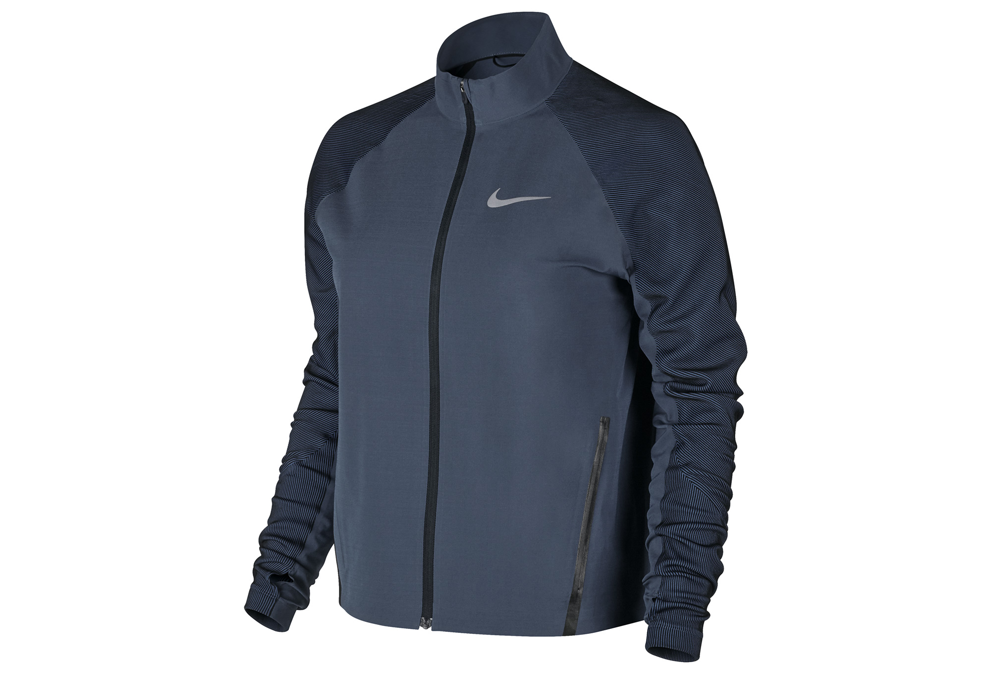 good quality half off best sell Veste NIKE RUNNING Homme Bleu
