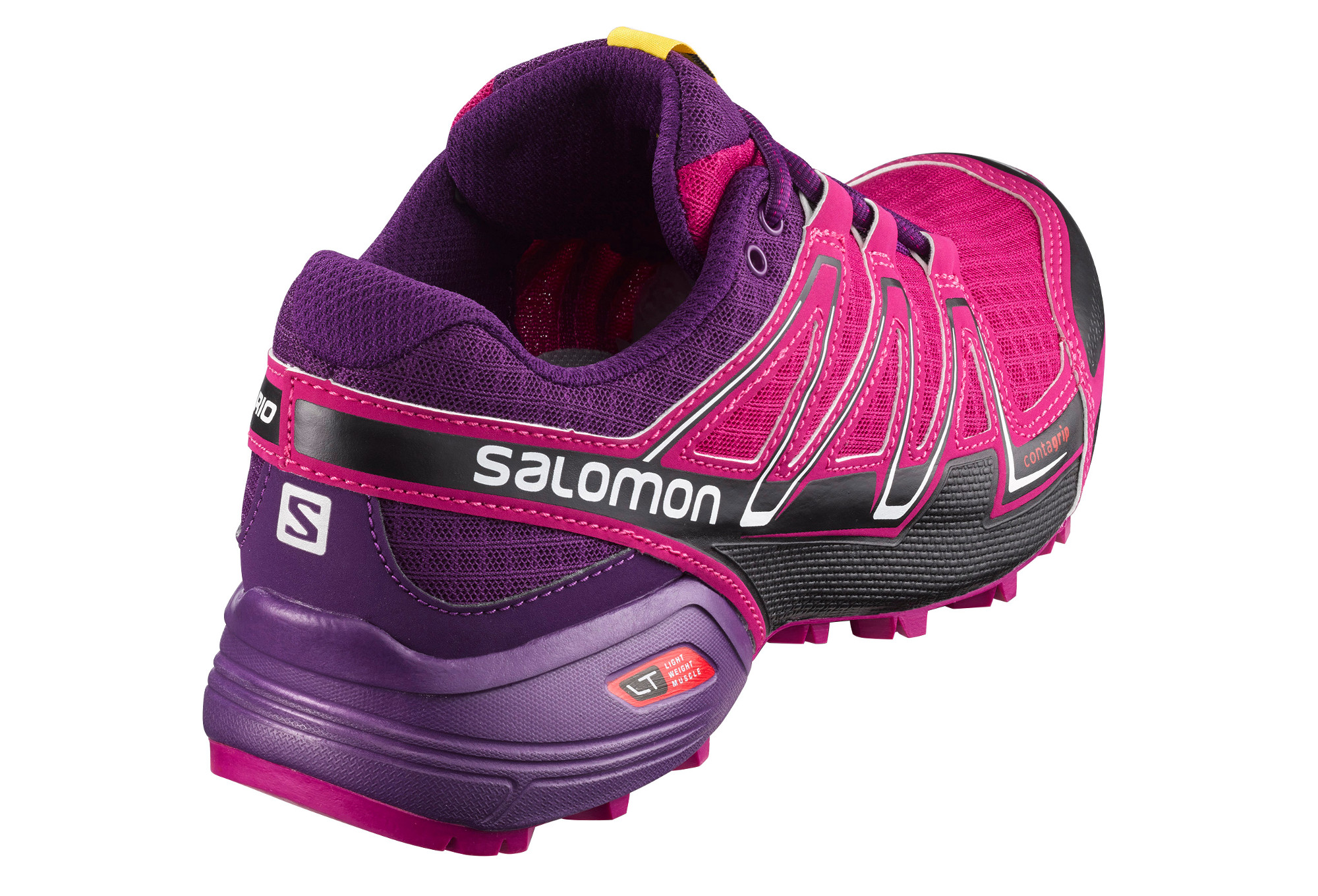 chaussures de trail femme salomon speedcross vario violet rose. Black Bedroom Furniture Sets. Home Design Ideas