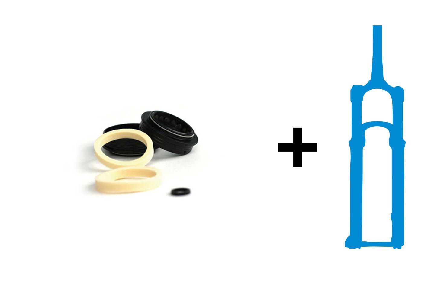 forfait r vision fourche kit joints fox 40 mm livraison domicile. Black Bedroom Furniture Sets. Home Design Ideas