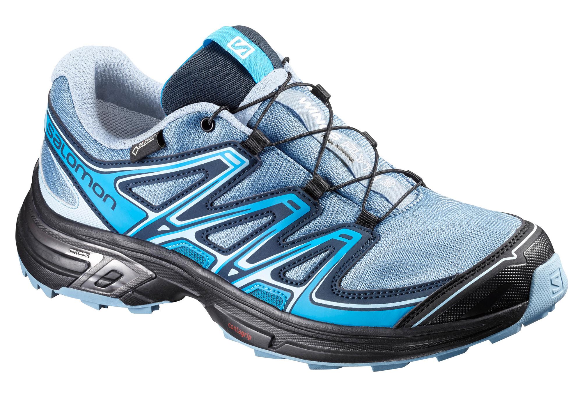 b1292f3f145 Chaussures de Trail Femme Salomon WINGS FLYTE 2 GTX Bleu