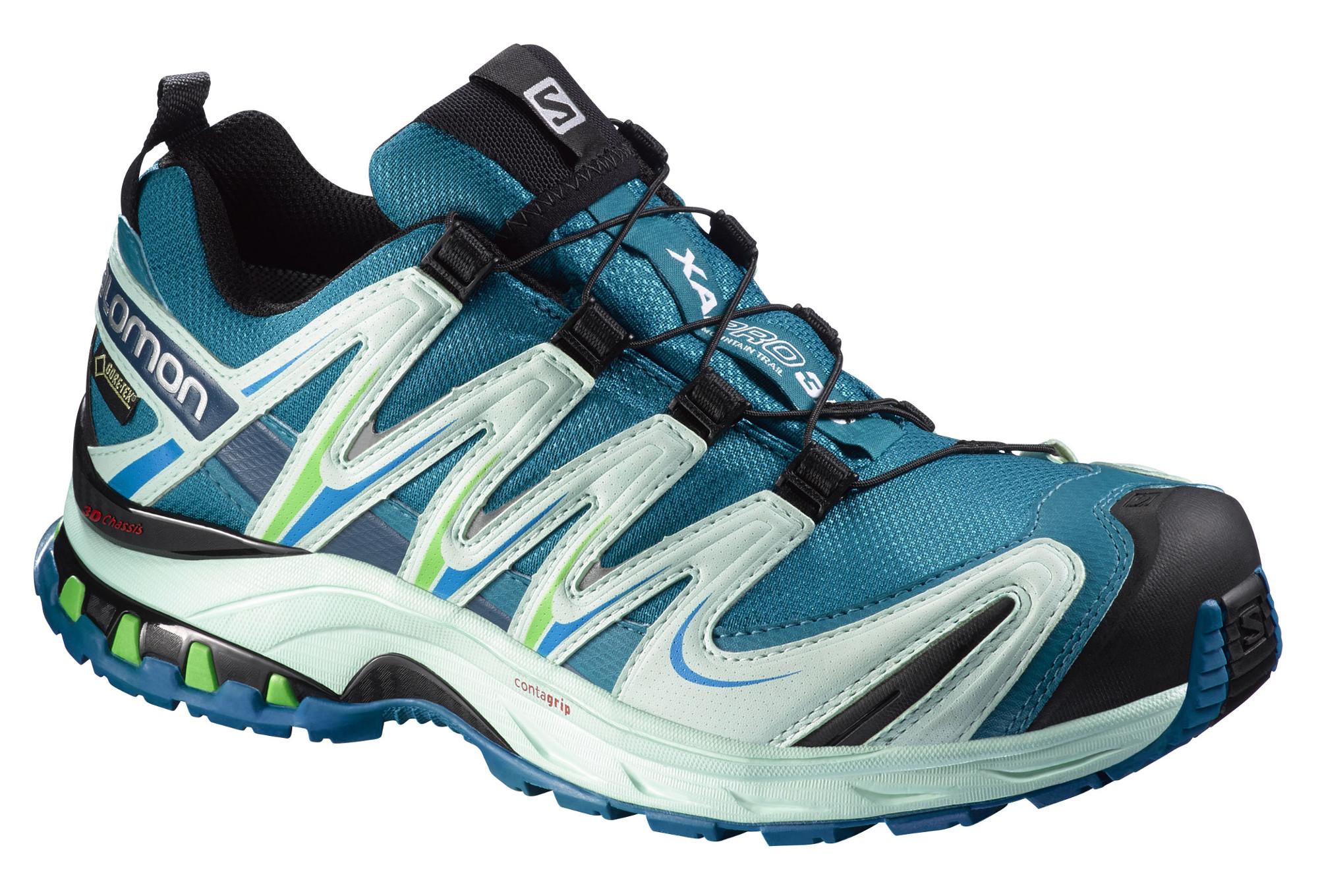 de Trail XA PRO Femme 3D Chaussures GTX Bleu Salomon qA3R54Lj