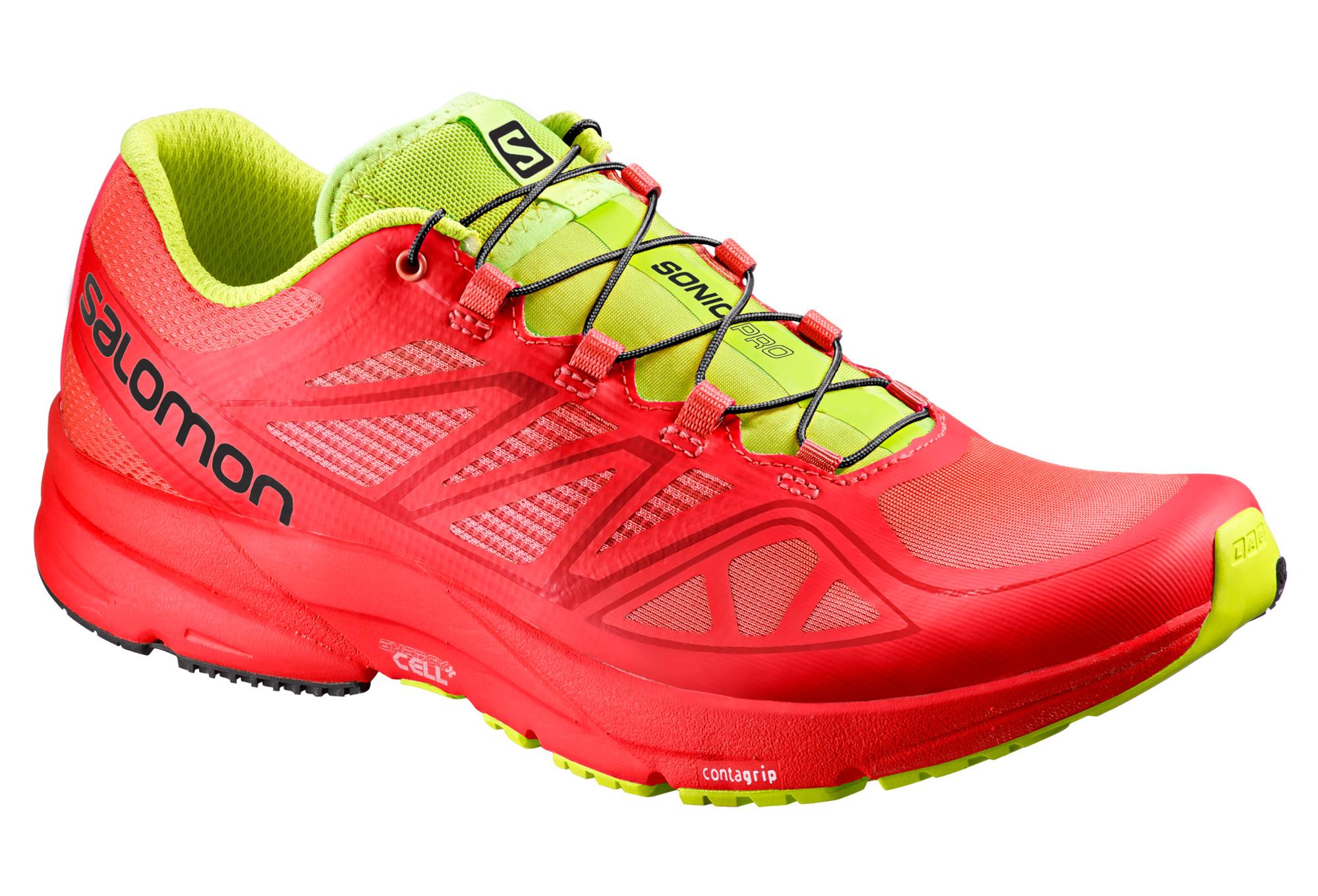 de Vert Running Chaussures SONIC PRO Rouge Salomon IW29EDH