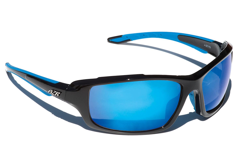 paire de lunettes azr cross noir bleu. Black Bedroom Furniture Sets. Home Design Ideas