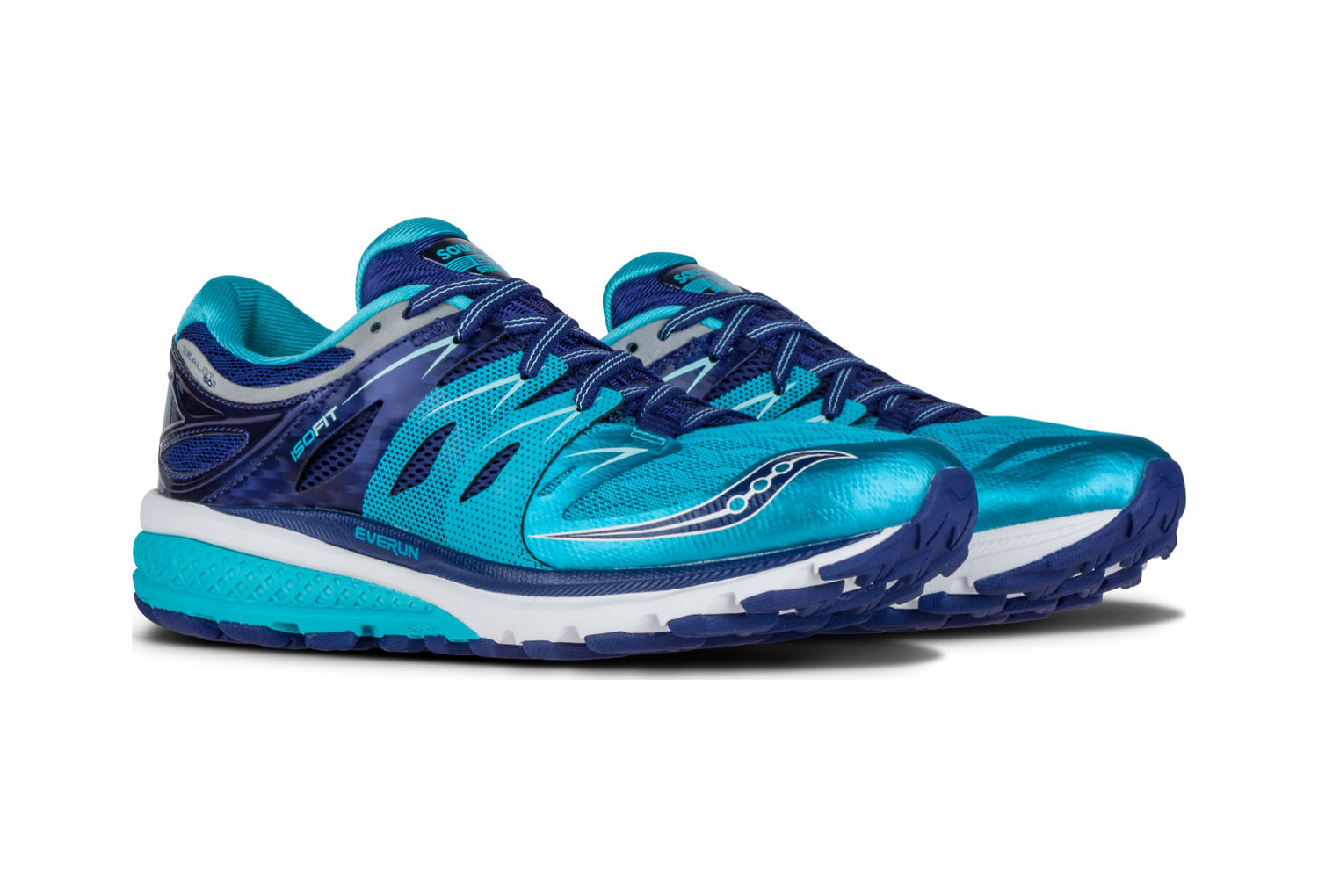 2 Blue Iso Running Silver Navy Saucony Shoes Womens Zealot O4Ex6qf