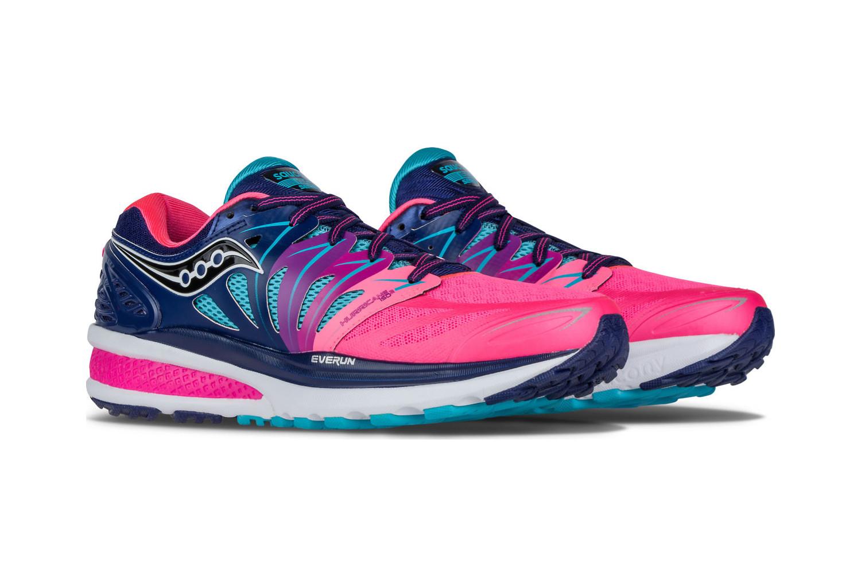 Chaussures 2 Hurricane Femme De Bleu Saucony Running Rose Iso rwxr6q7Y