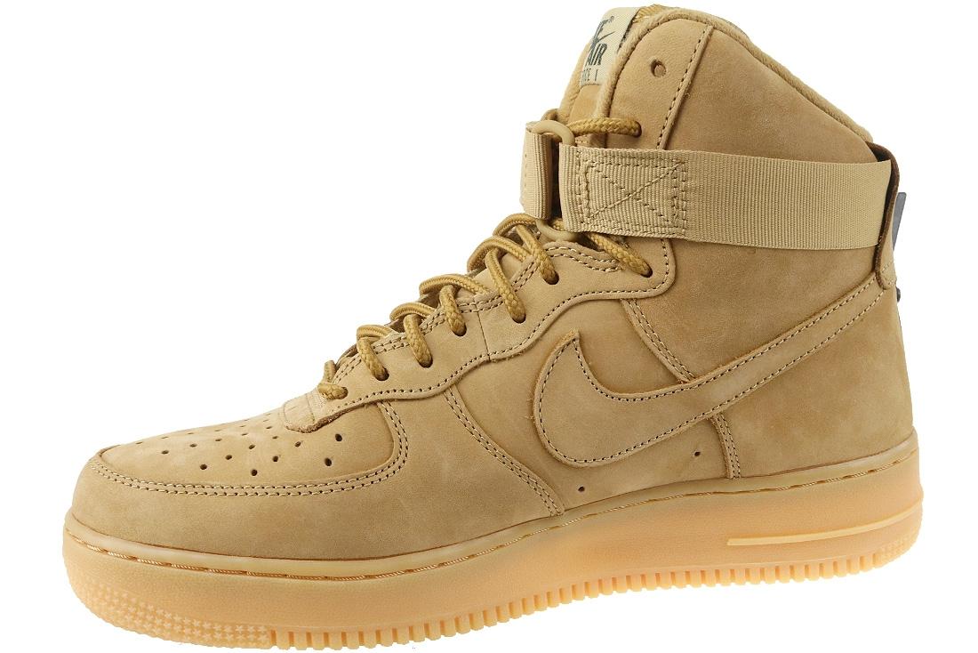 new products ec866 385ff Nike Air Force 1 HIGH 07 LV8 WB 882096-200 Brun