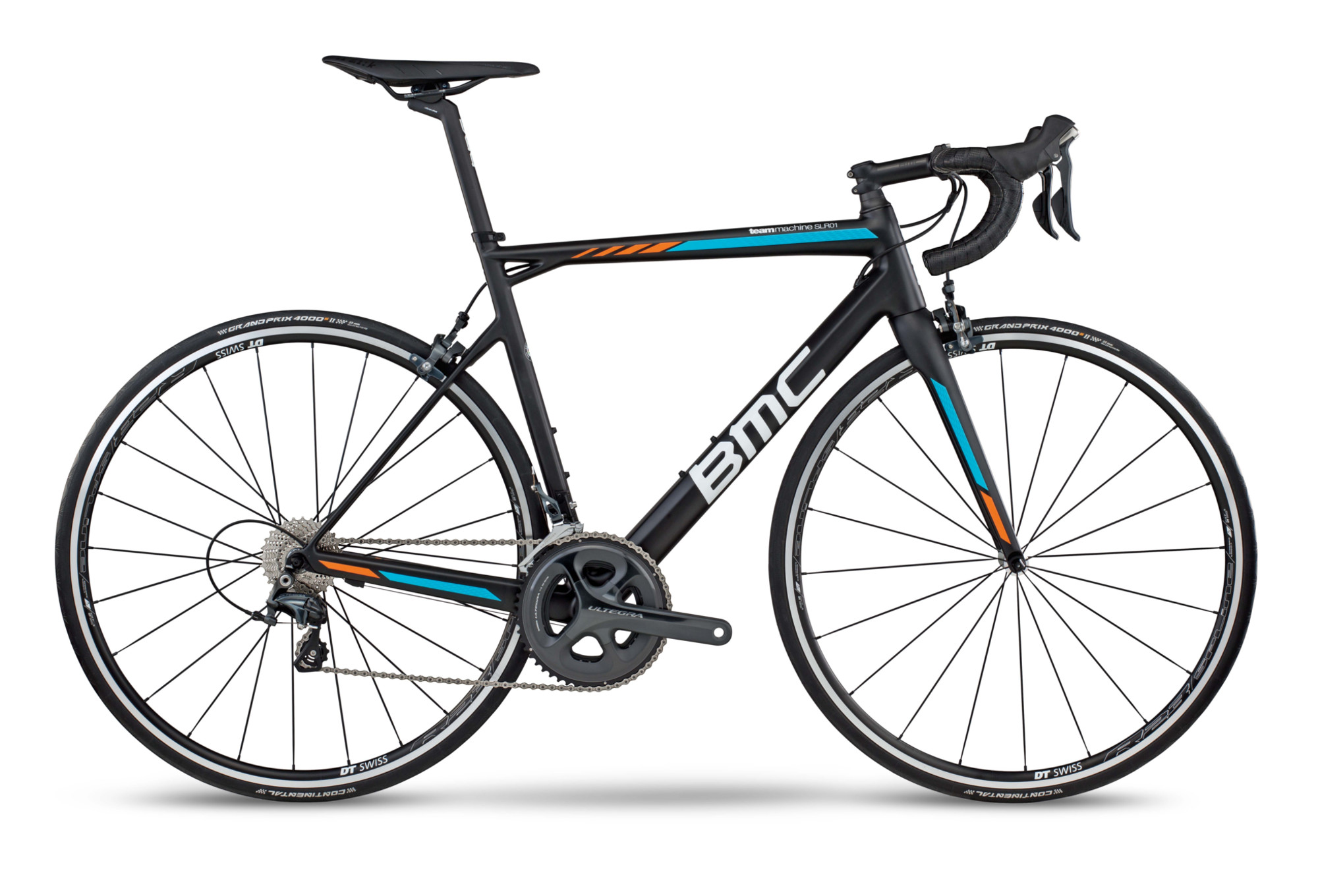 v lo de route bmc teammachine slr01 shimano ultegra 11v 2017 noir bleu orange. Black Bedroom Furniture Sets. Home Design Ideas