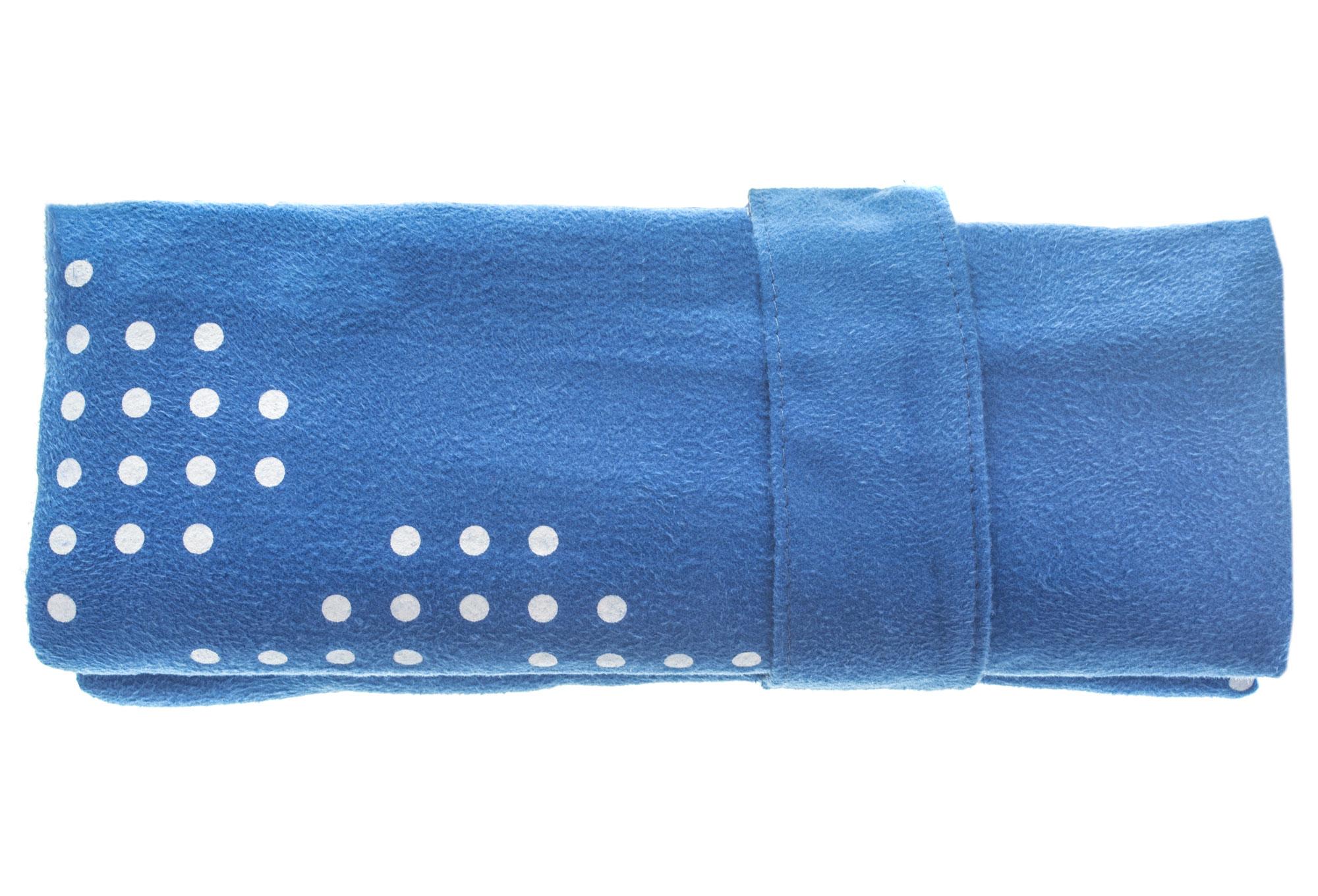 Serviette microfibre arena halo bleu for Serviette piscine arena