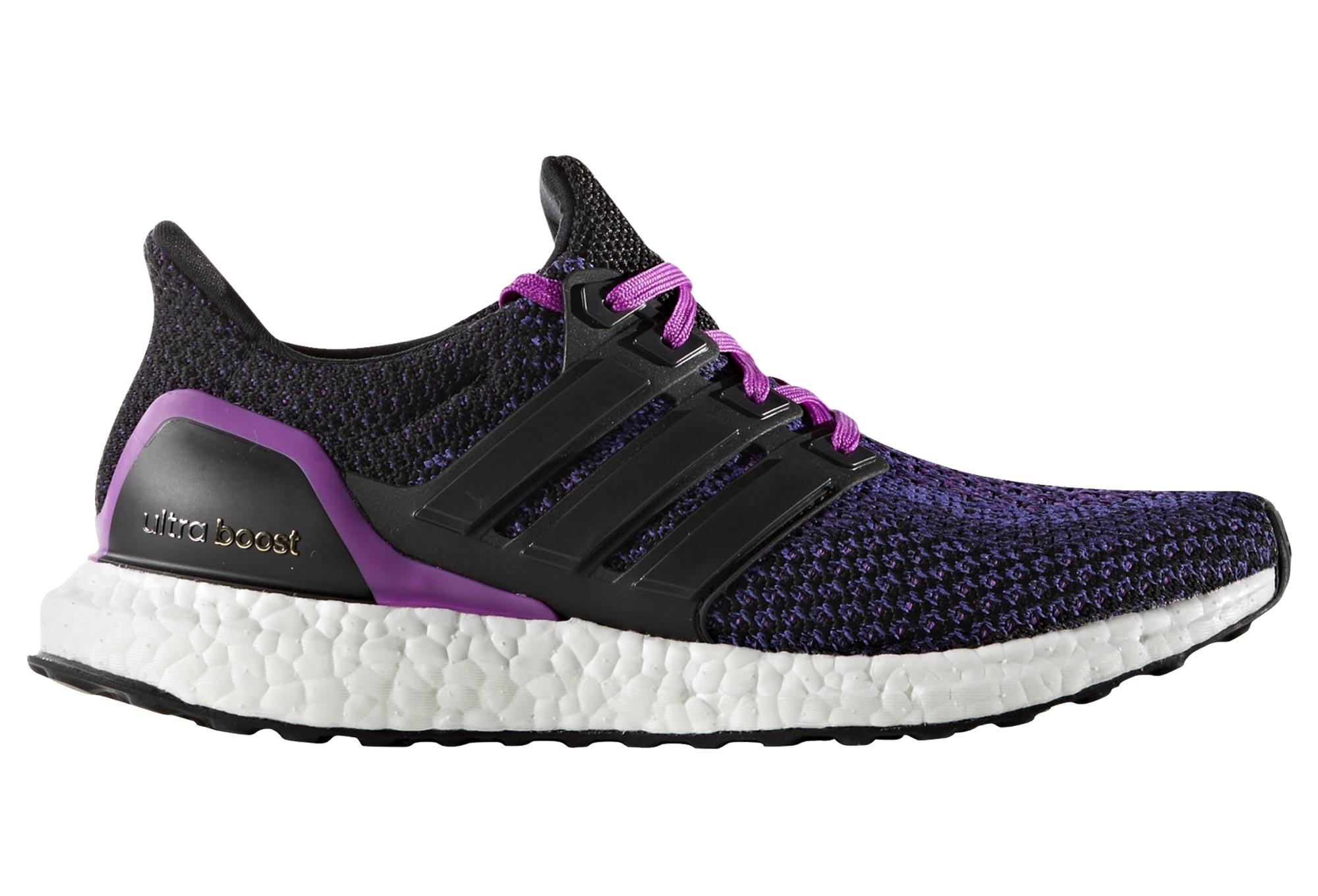laufschuhe adidas ultra boost frauen violett schwarz. Black Bedroom Furniture Sets. Home Design Ideas