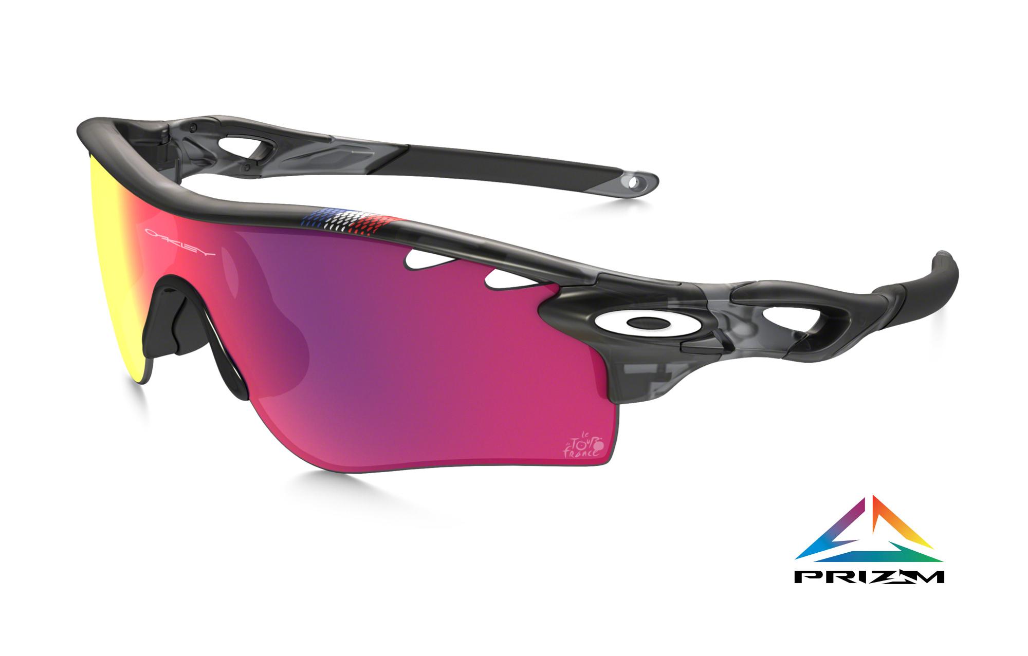 Oakley Prizm Road Radarlock Sunglasses Tour De France Black Oo9181