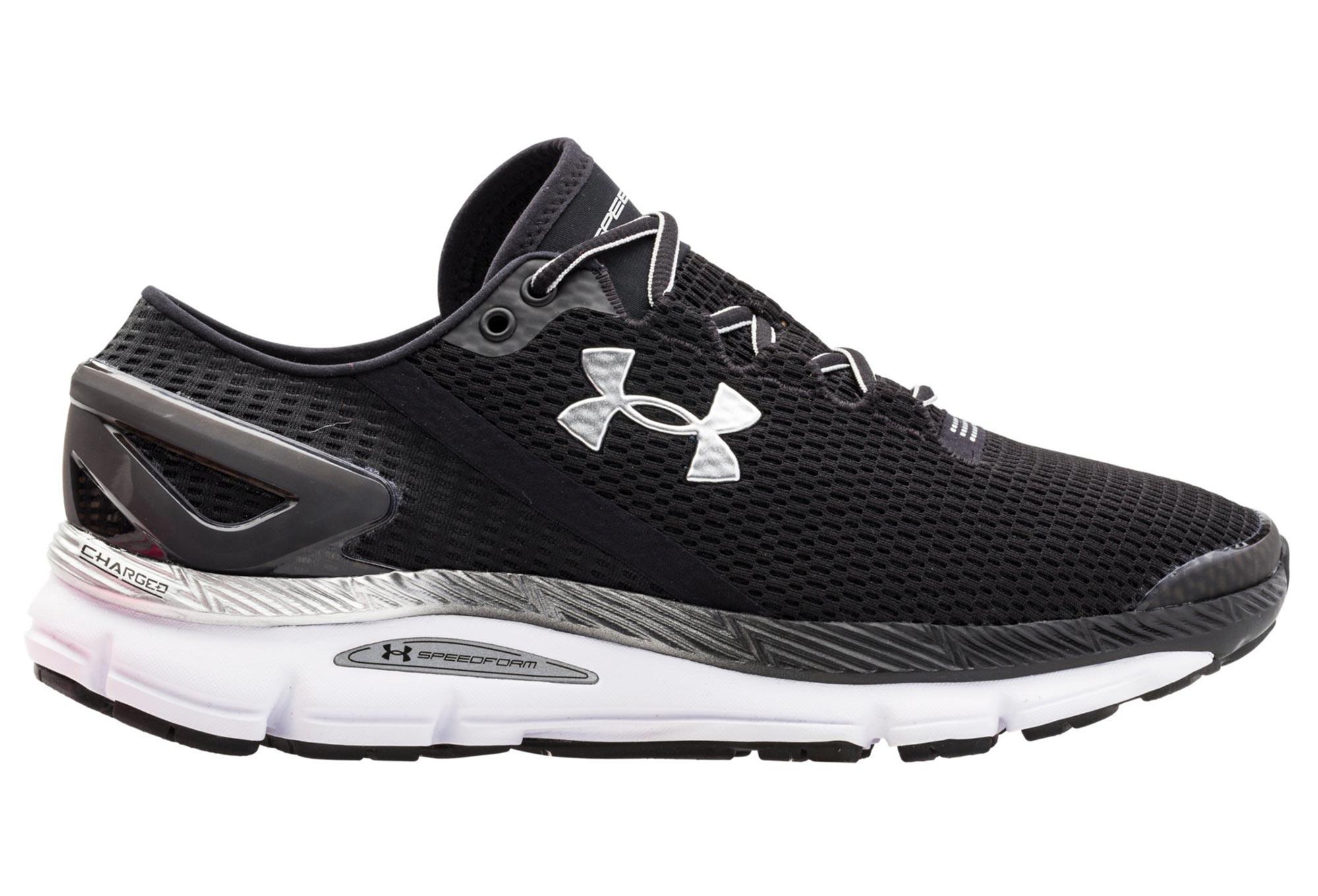 Zapatos Para Correr Bajo La Armadura Géminis Speedform 2.1 De Los Hombres - Negro PGGKeA