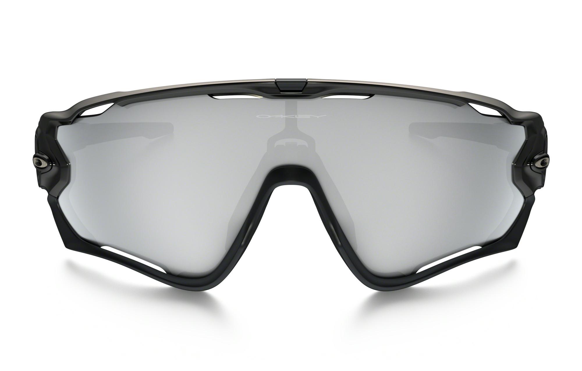 lunettes oakley jawbreaker halo collection noir chrome. Black Bedroom Furniture Sets. Home Design Ideas