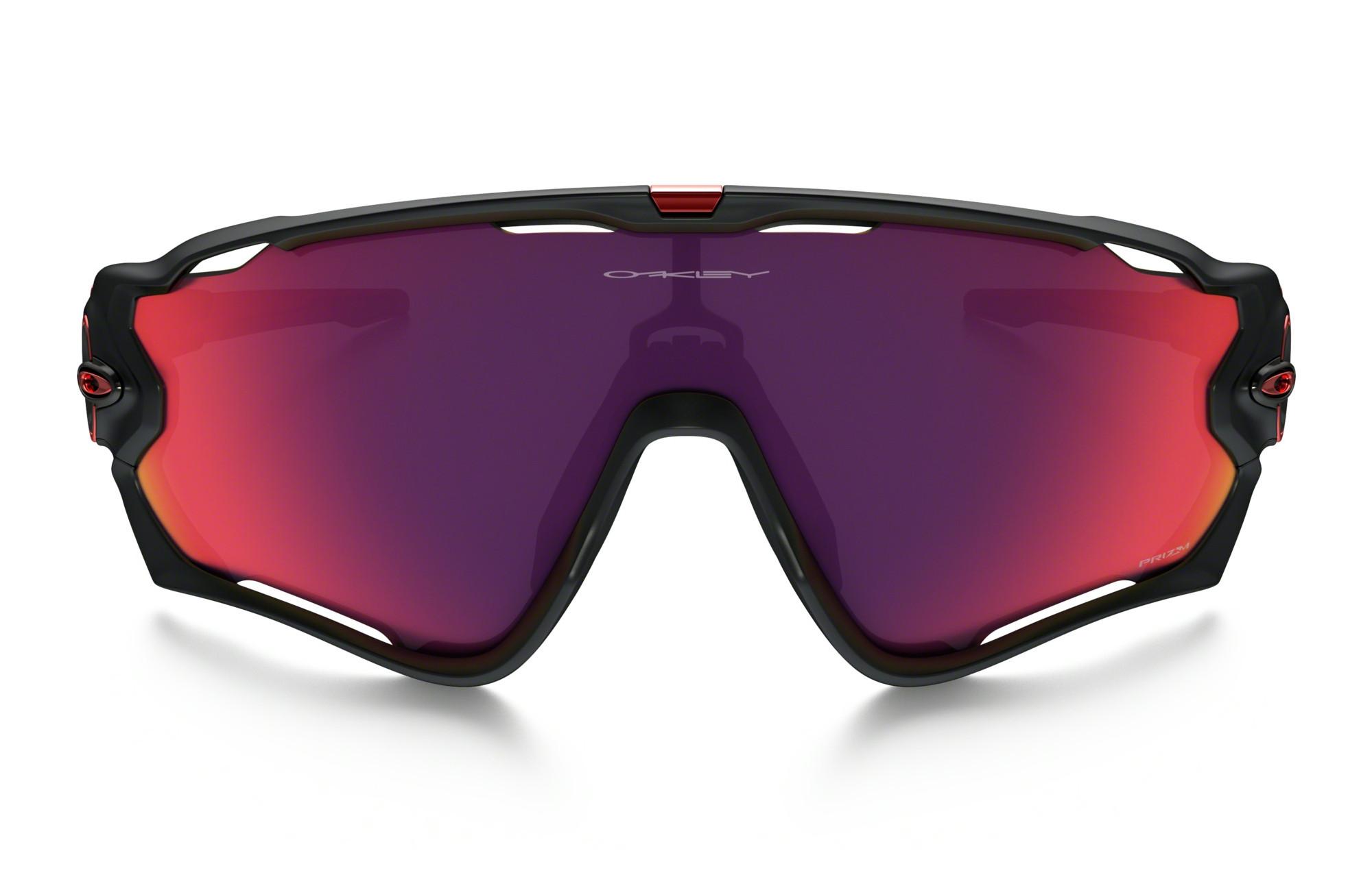lunettes oakley jawbreaker noir rouge prizm road r f. Black Bedroom Furniture Sets. Home Design Ideas