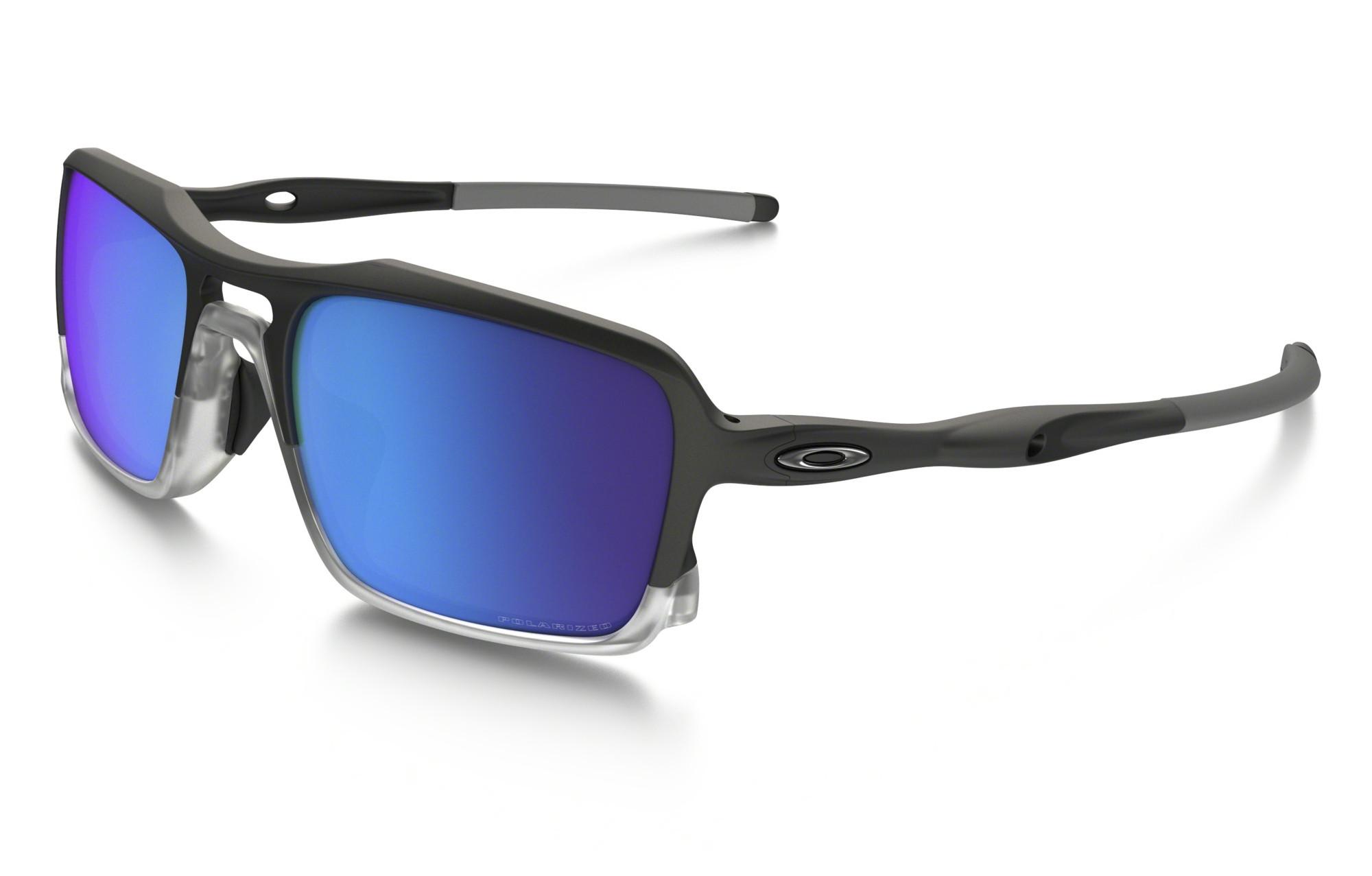 31cc6bdc53 OAKLEY TRIGGERMAN Sunglasses Black - Blue Iridium Polarized Ref OO9266-04