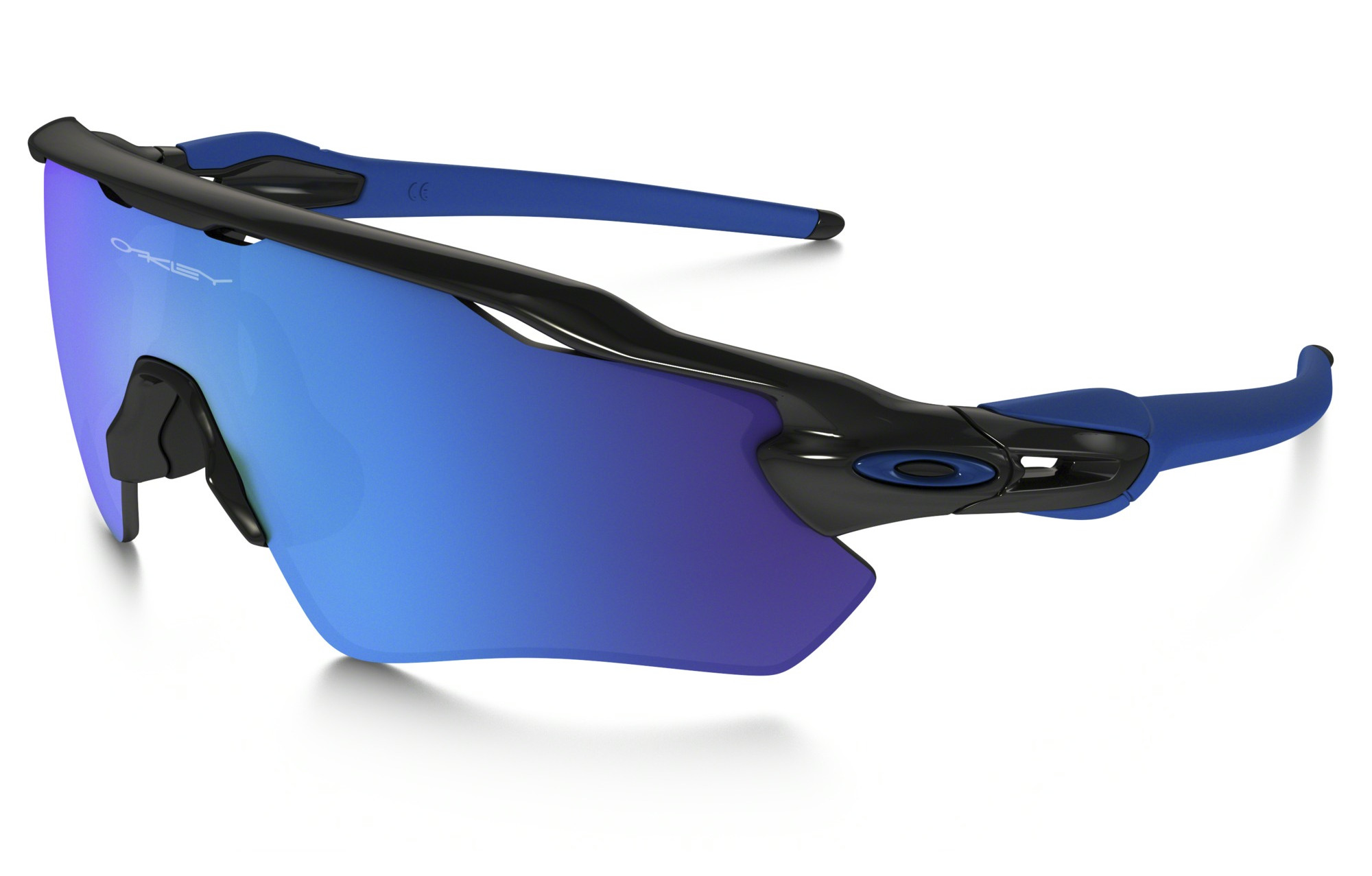 Oakley Radar EV Path Team Colors Sonnenbrille Schwarz/Blau rfzAgATw