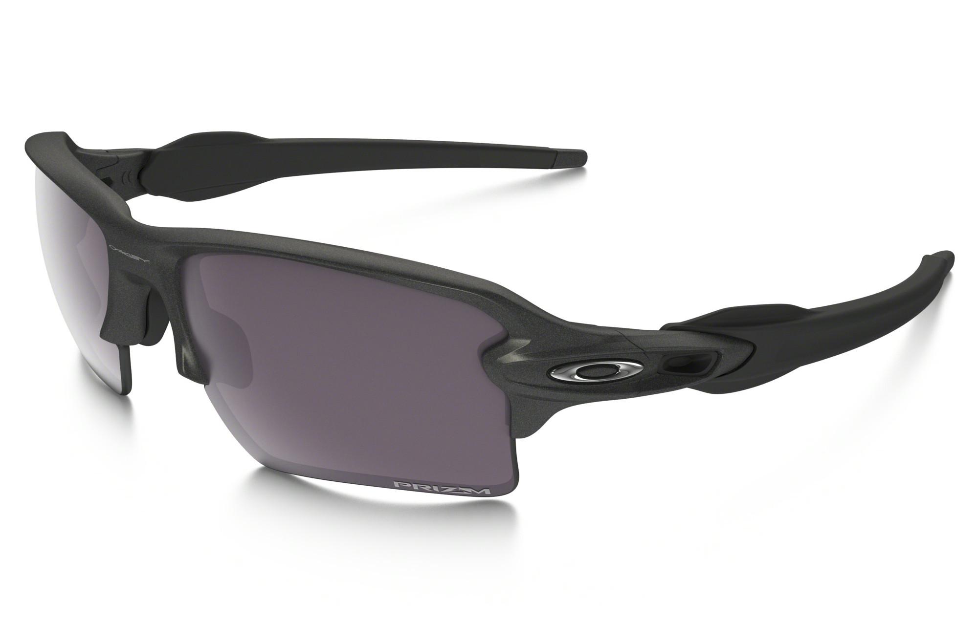 8a3307a3f9 OAKLEY FLAK 2.0 XL Sunglasses Black - Grey Prizm Daily Polarized Ref  OO9188-60