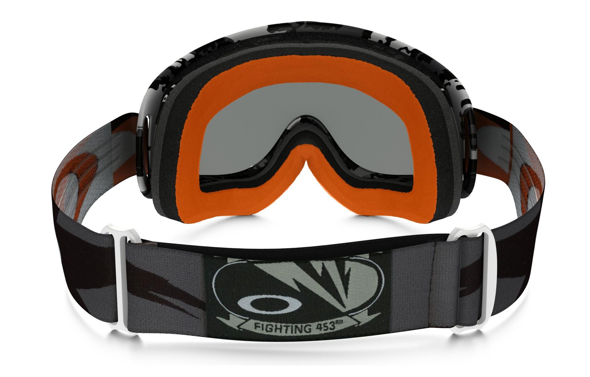 58ecee0789 OAKLEY O-FRAME MX FLIGHT SERIES Goggles Black - Grey Ref OO7029-24