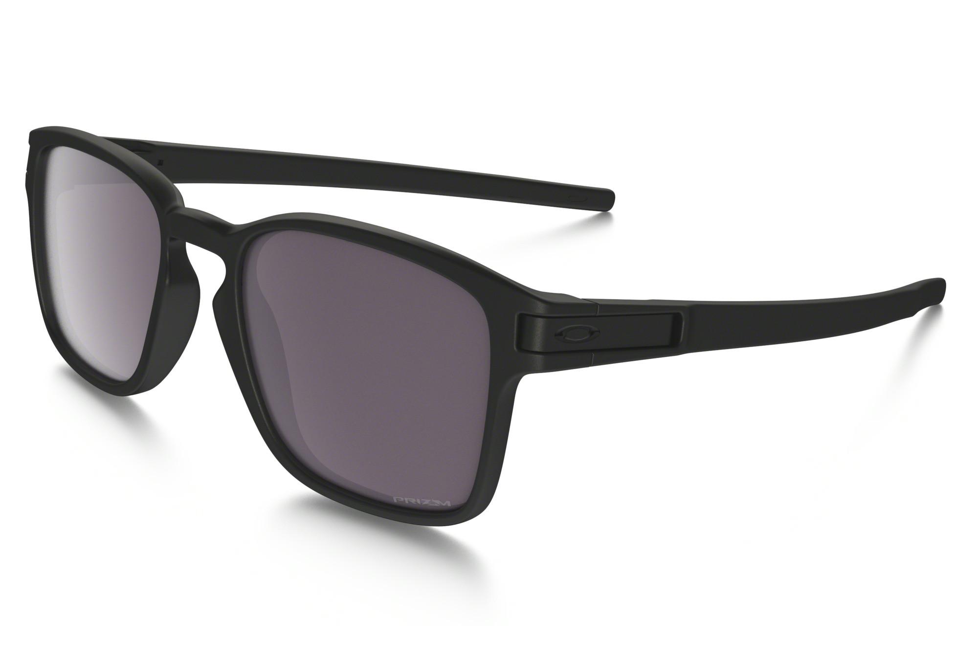 cc9c4aa50d OAKLEY Sunglasses Latch Square Matte Black Prizm Daily Polarised Réf OO9353- 02