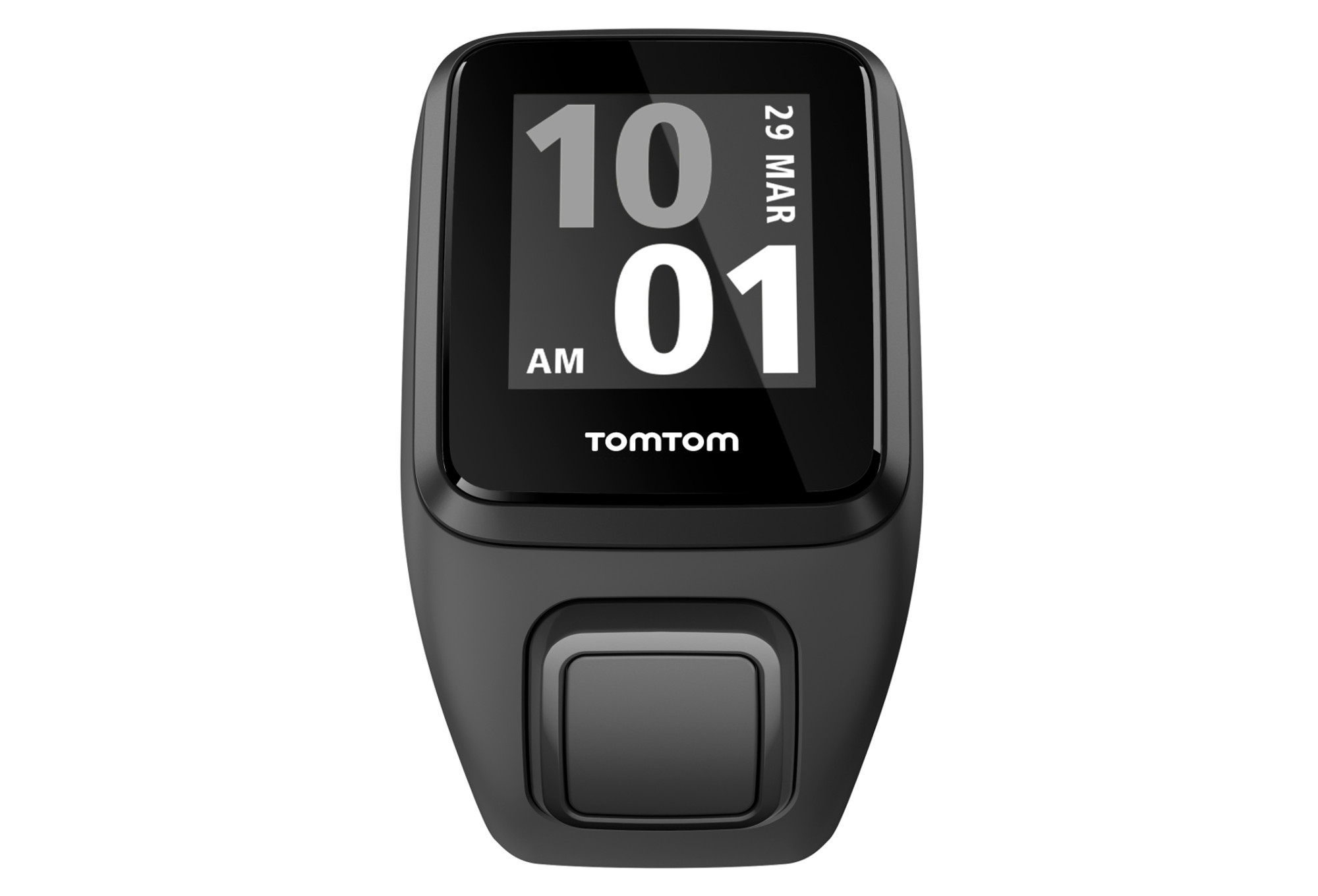 montre gps tomtom runner 3 cardio bracelet large noir vert. Black Bedroom Furniture Sets. Home Design Ideas