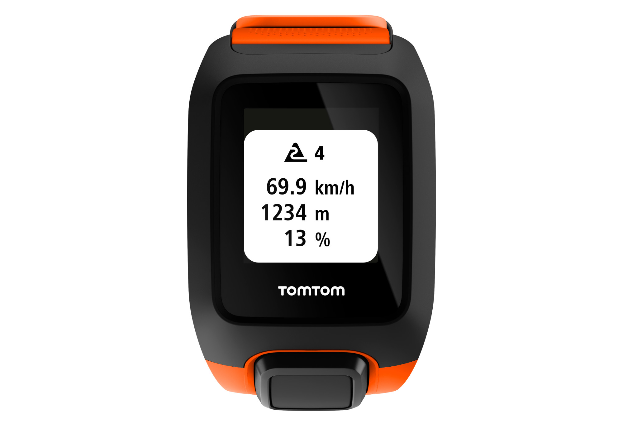 montre gps outdoor tomtom adventurer cardio music orange. Black Bedroom Furniture Sets. Home Design Ideas