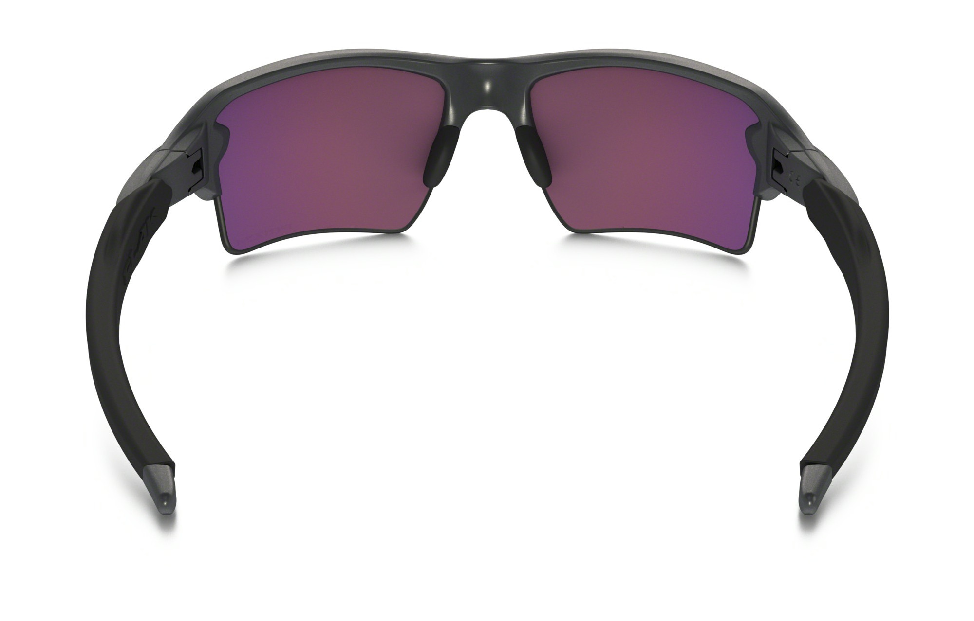 ff1bdd71d5f OAKLEY FLAK 2.0 XL STEEL COLLECTION Sunglasses Grey - Purple Iridium Prizm  Road Ref OO9188-