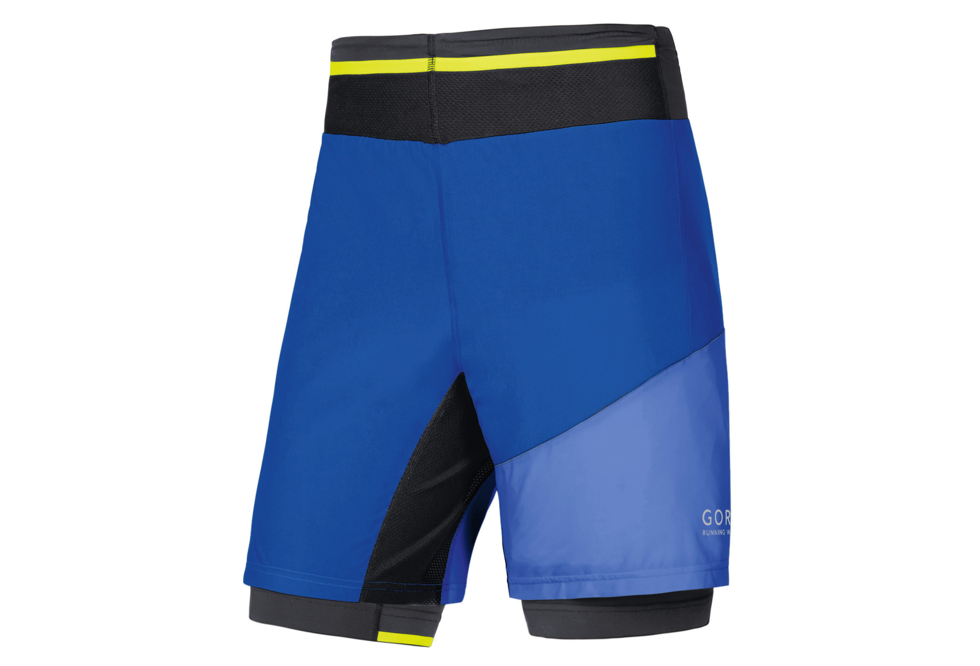 GORE RUNNING WEAR 2-in-1 Short FUSION Blue  40a64f9cf03