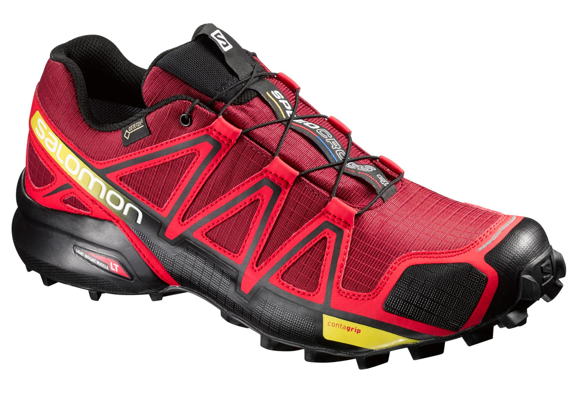 Rouge Chaussures Salomon Trail Speedcross De 4 Gtx Pp4pqYrU