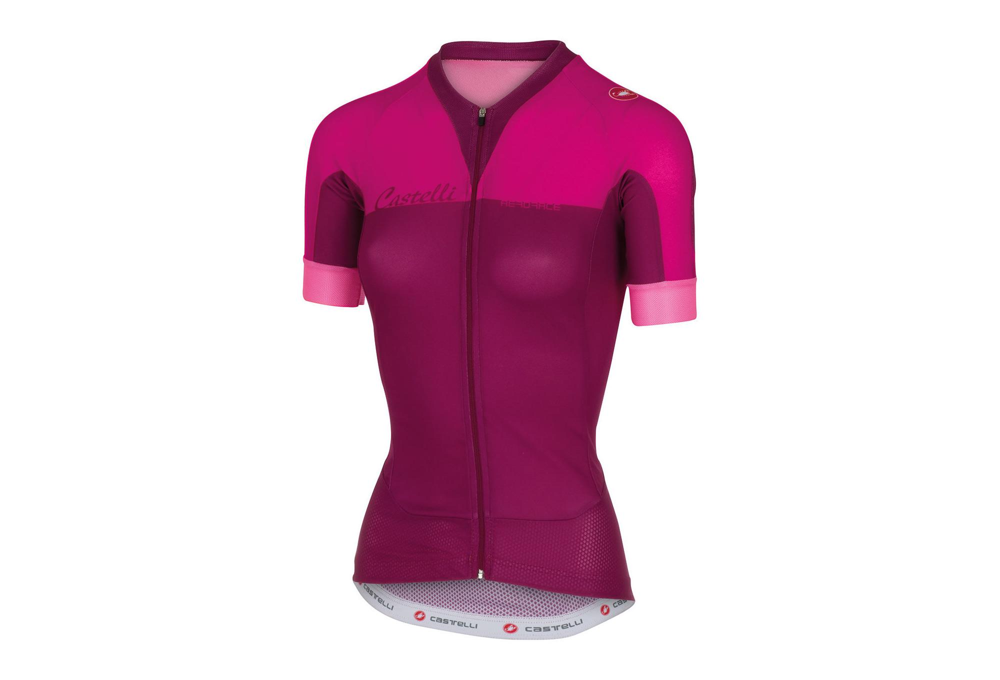 aeacfbc2d CASTELLI AERO RACE Woman Short Sleeves Jersey Pink