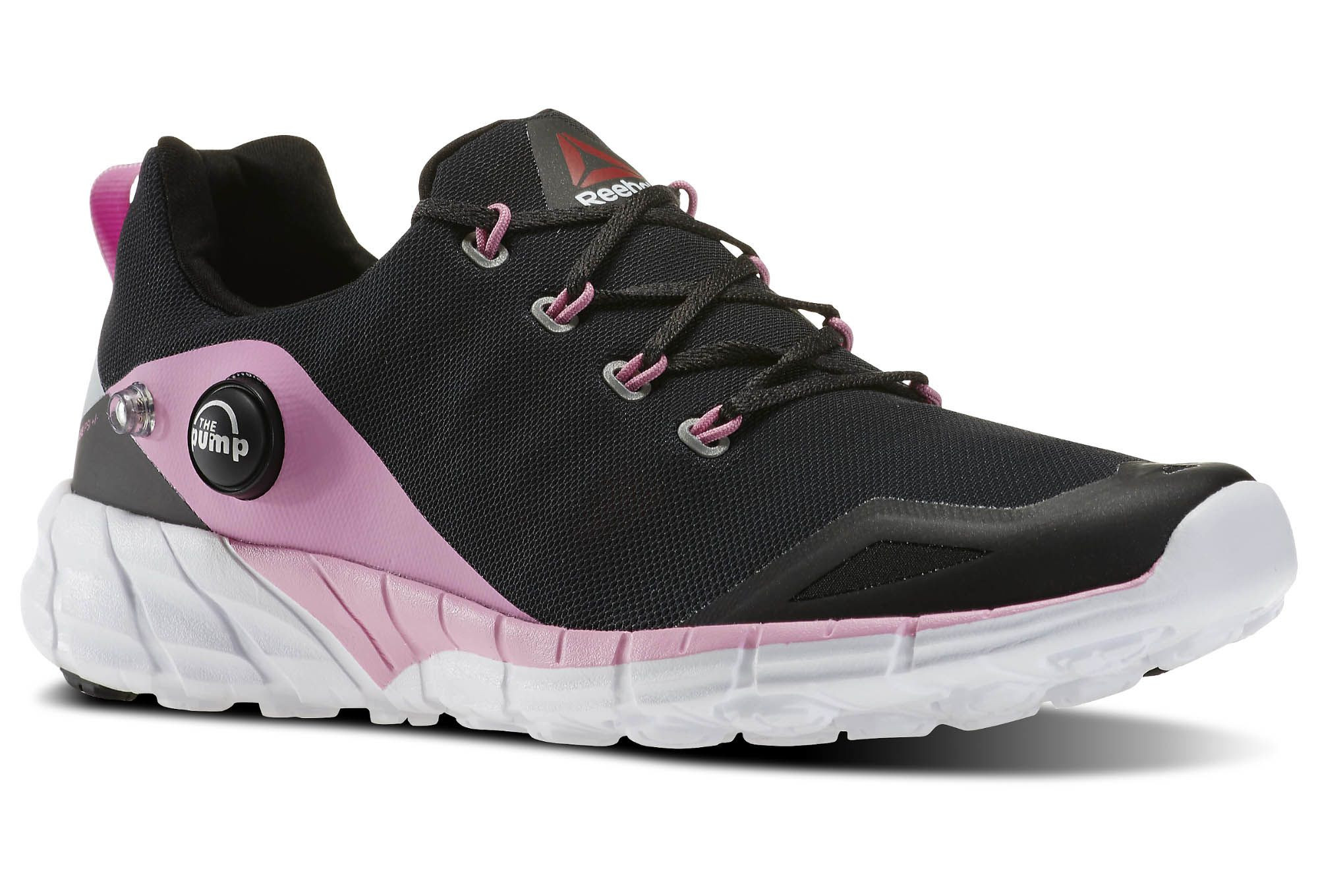 reebok shoes zpump fusion 2 0 black pink white