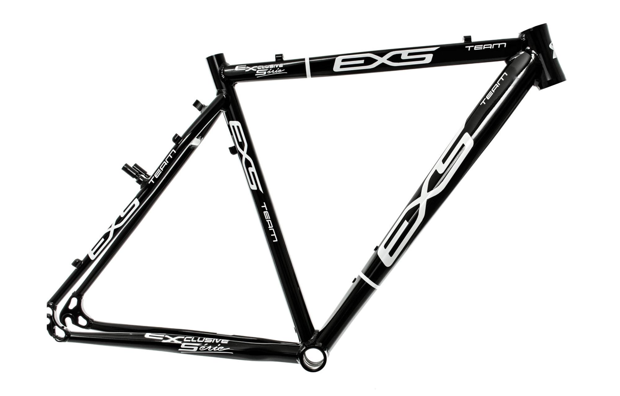 EXS Cyclocross Frame ALU Black | Alltricks.com