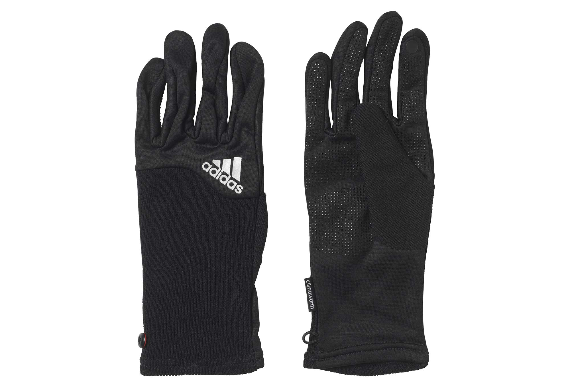 gants hiver femme adidas running climawarm running noir. Black Bedroom Furniture Sets. Home Design Ideas