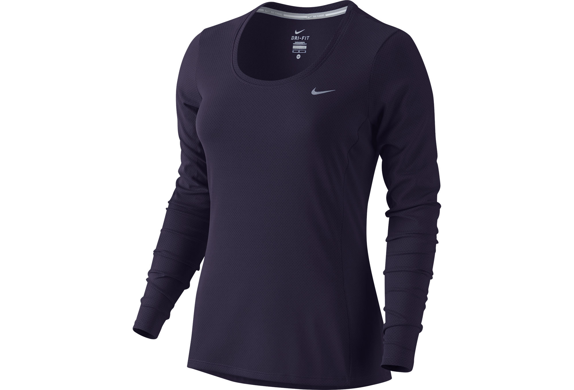 4c3858936911d NIKE ZONAL COOLING CONTOUR Women Shirt Purple