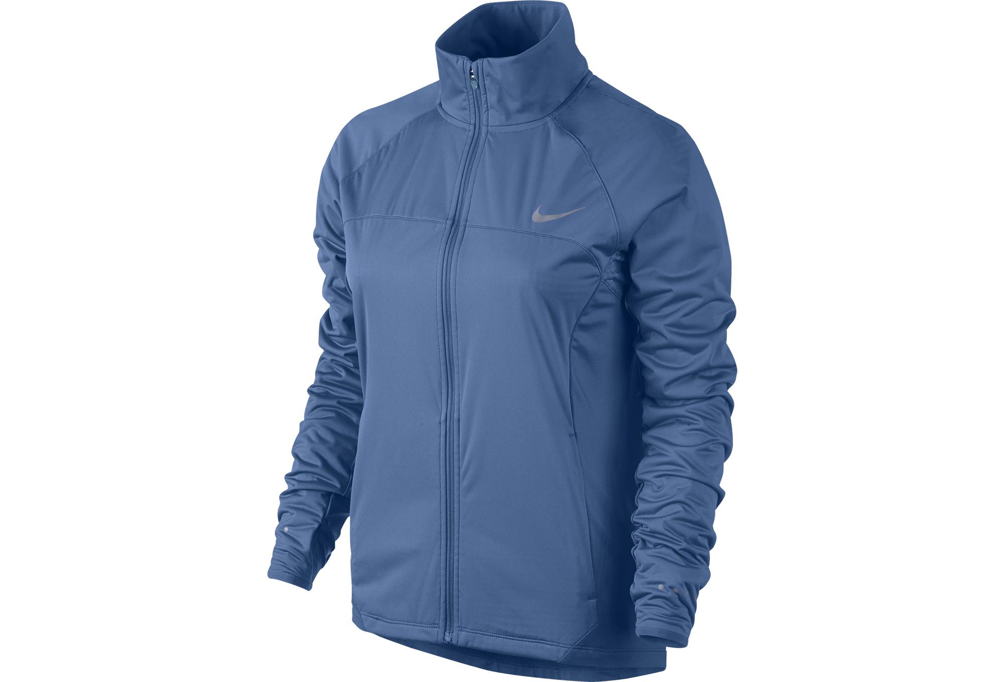 NIKE SHIELD 2.0 Women Jacket Blue  25f4949b5