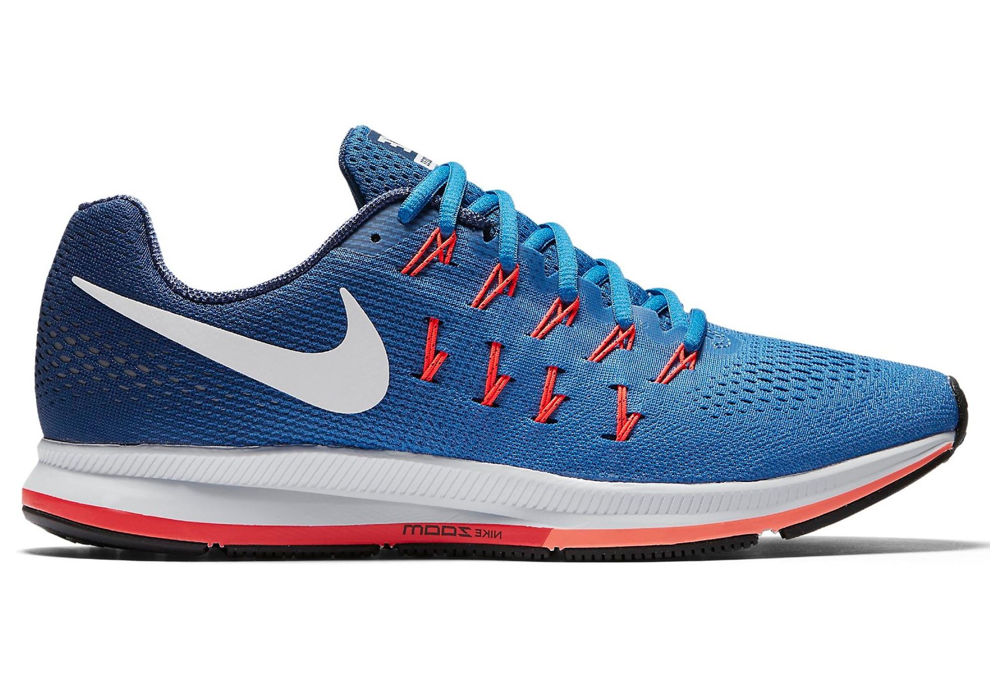 timeless design 3d45a df725 Chaussures de Running Nike AIR ZOOM PEGASUS 33 Bleu