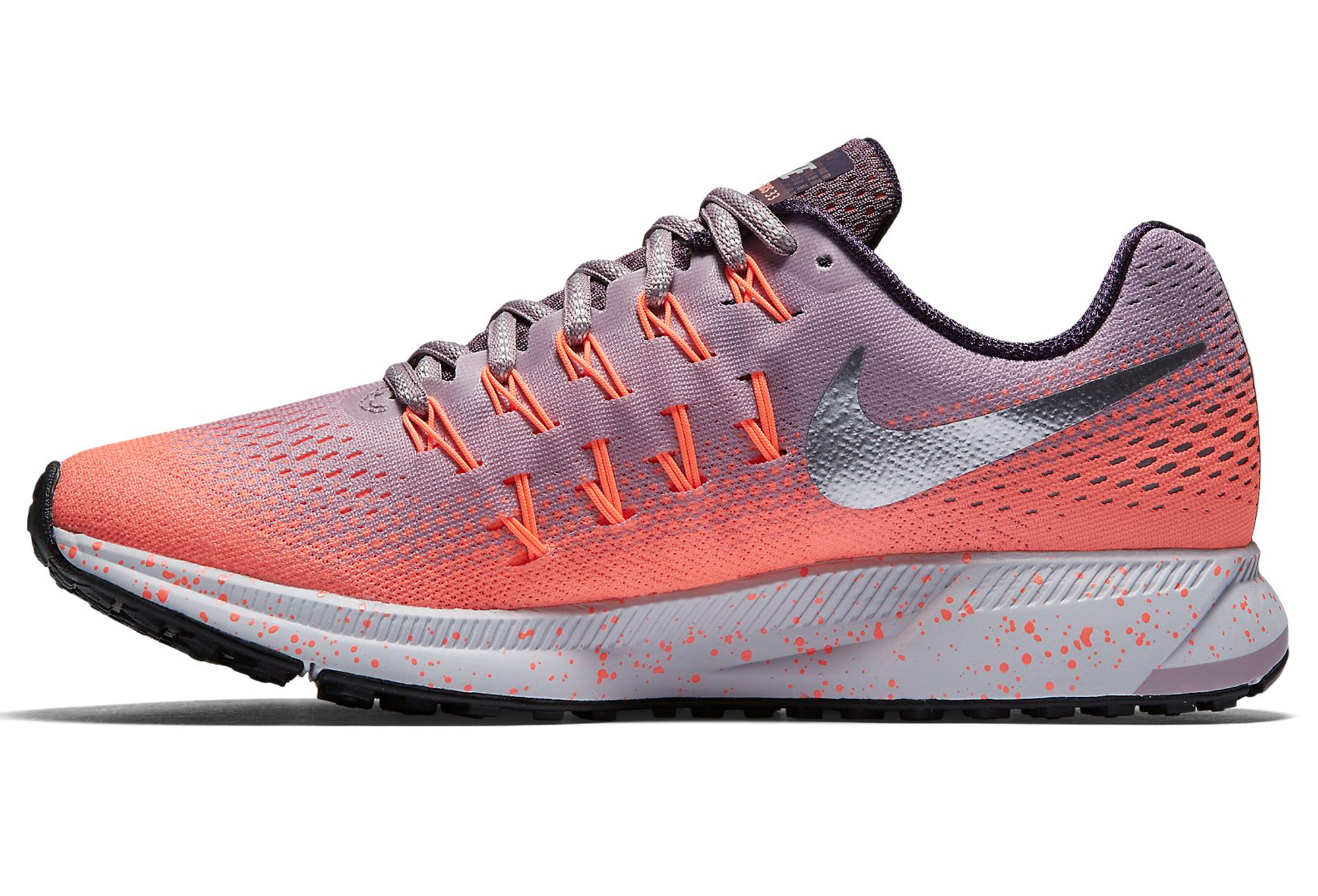 official photos 3a9ea fcd35 Chaussures de Running Femme Nike AIR ZOOM PEGASUS 33 SHIELD Rose   Violet