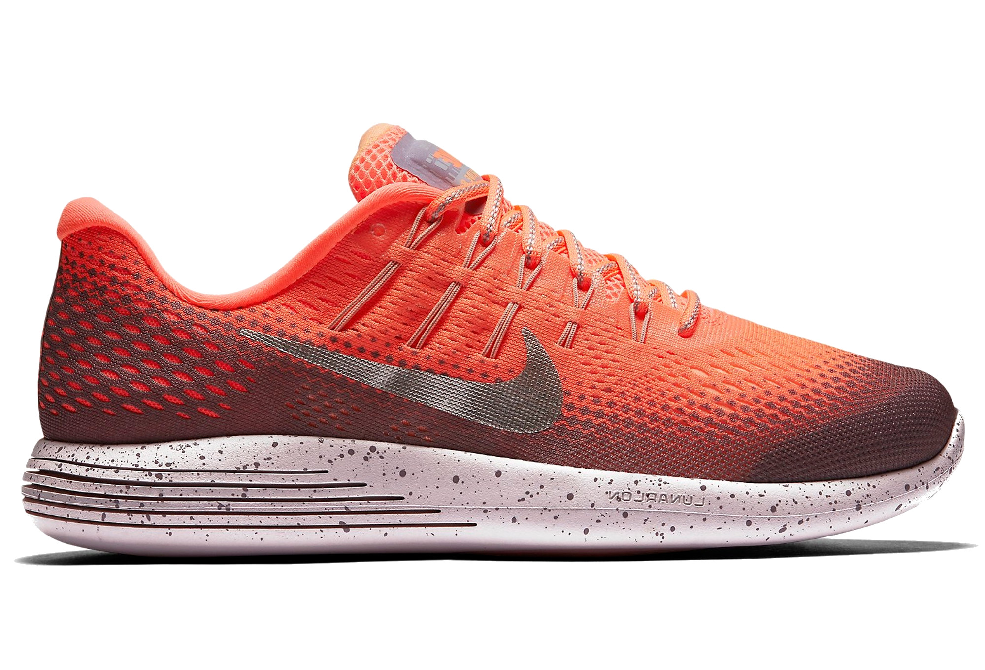 9e98beca1f5d NIKE LUNARGLIDE 8 SHIELD Shoes Orange Women