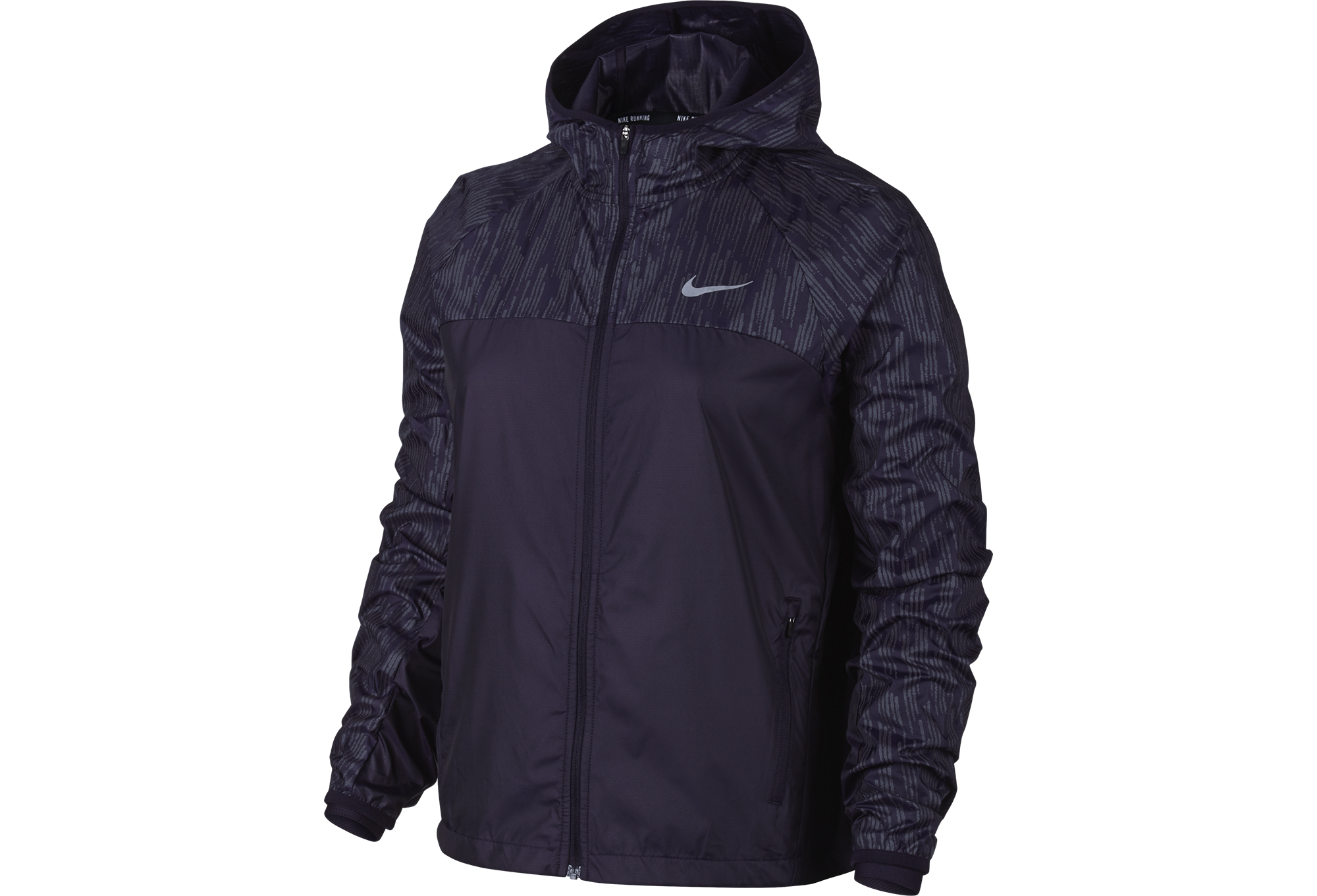 ae7946eb1 NIKE SHIELD FLASH Women Jacket Purple