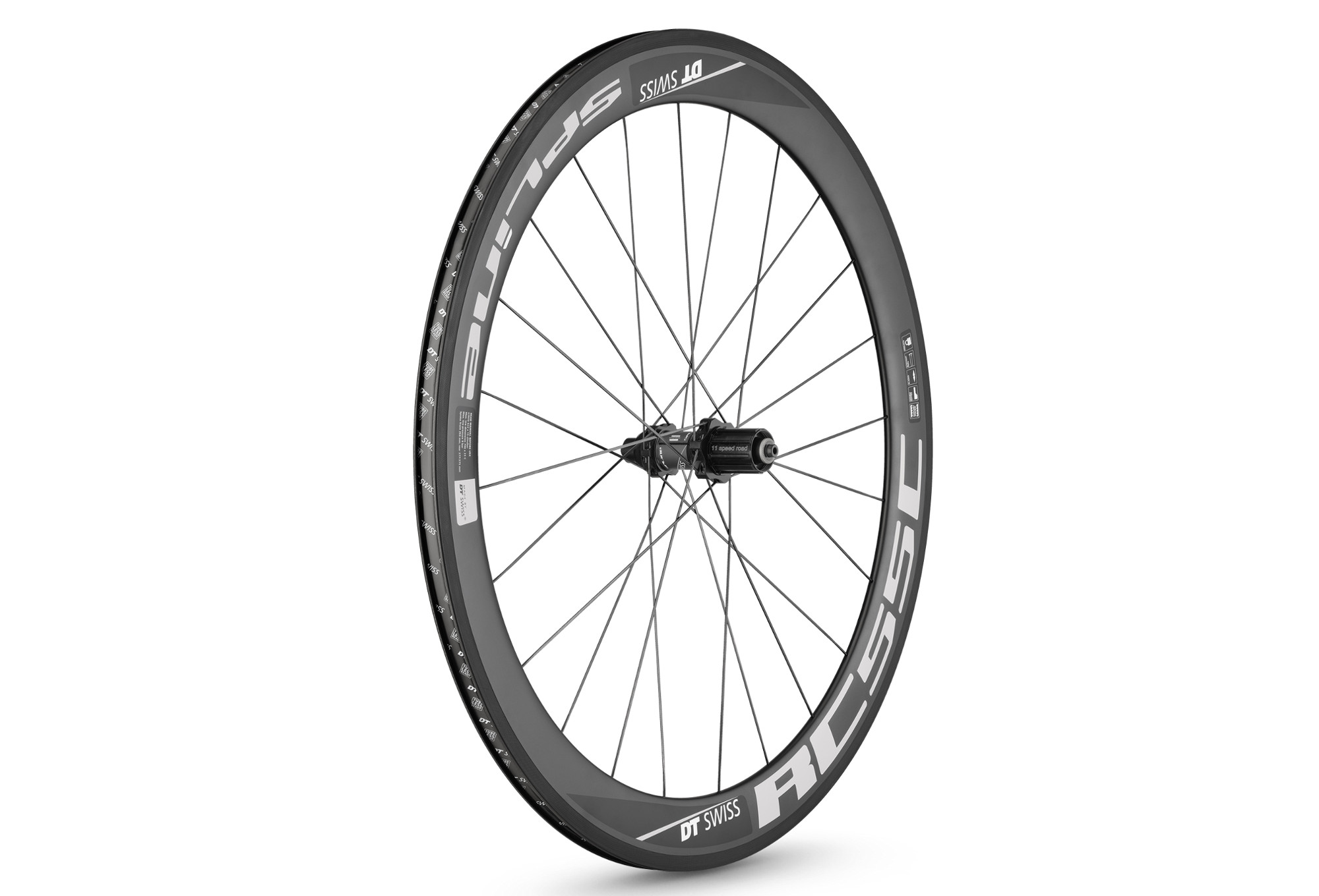 Dt Swiss 2017 Rear Wheel Rc55 Spline Carbon Body Shimanosram