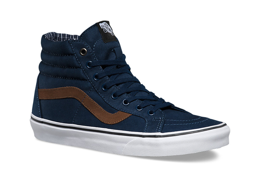 bd1ee3a7ef VANS SK8-HI REISSUE Shoes Blue Brown