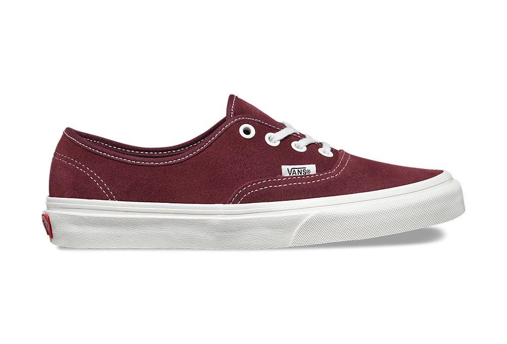 90f35702701c VANS VARSITY SUEDE AUTHENTIC Shoes Red