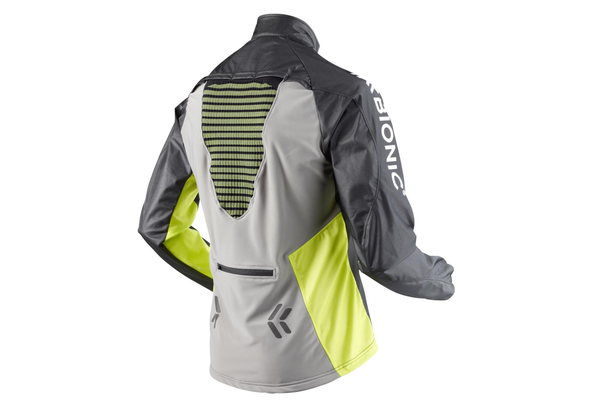 X bionic spherewind jacket test