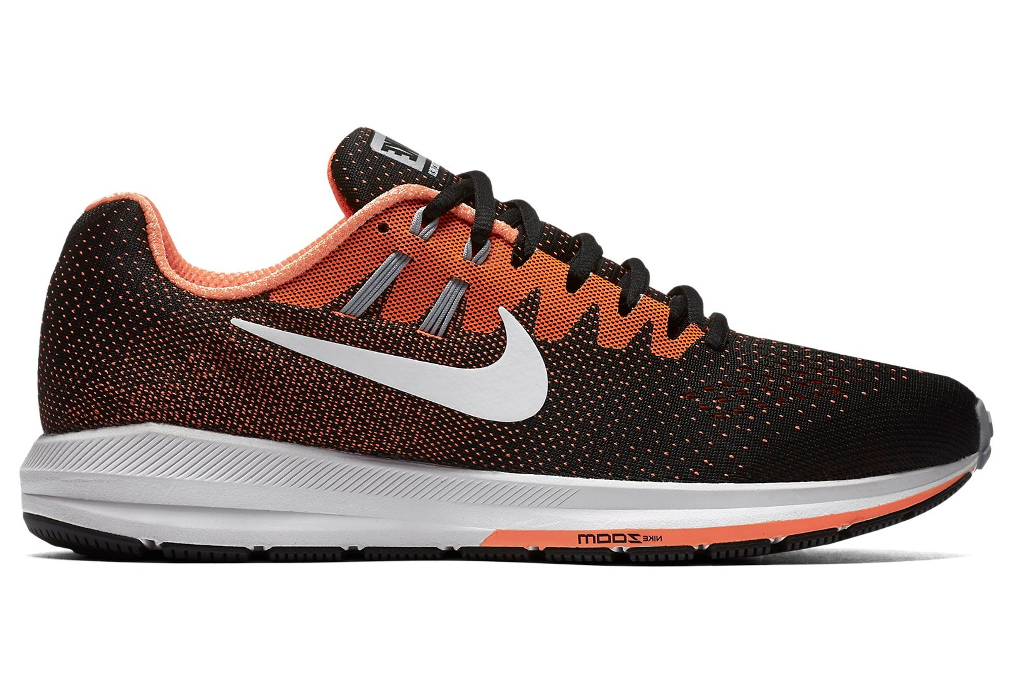official photos 4a6b4 4f61d Chaussures de Running Nike Air Zoom Structure 20 Noir   Orange