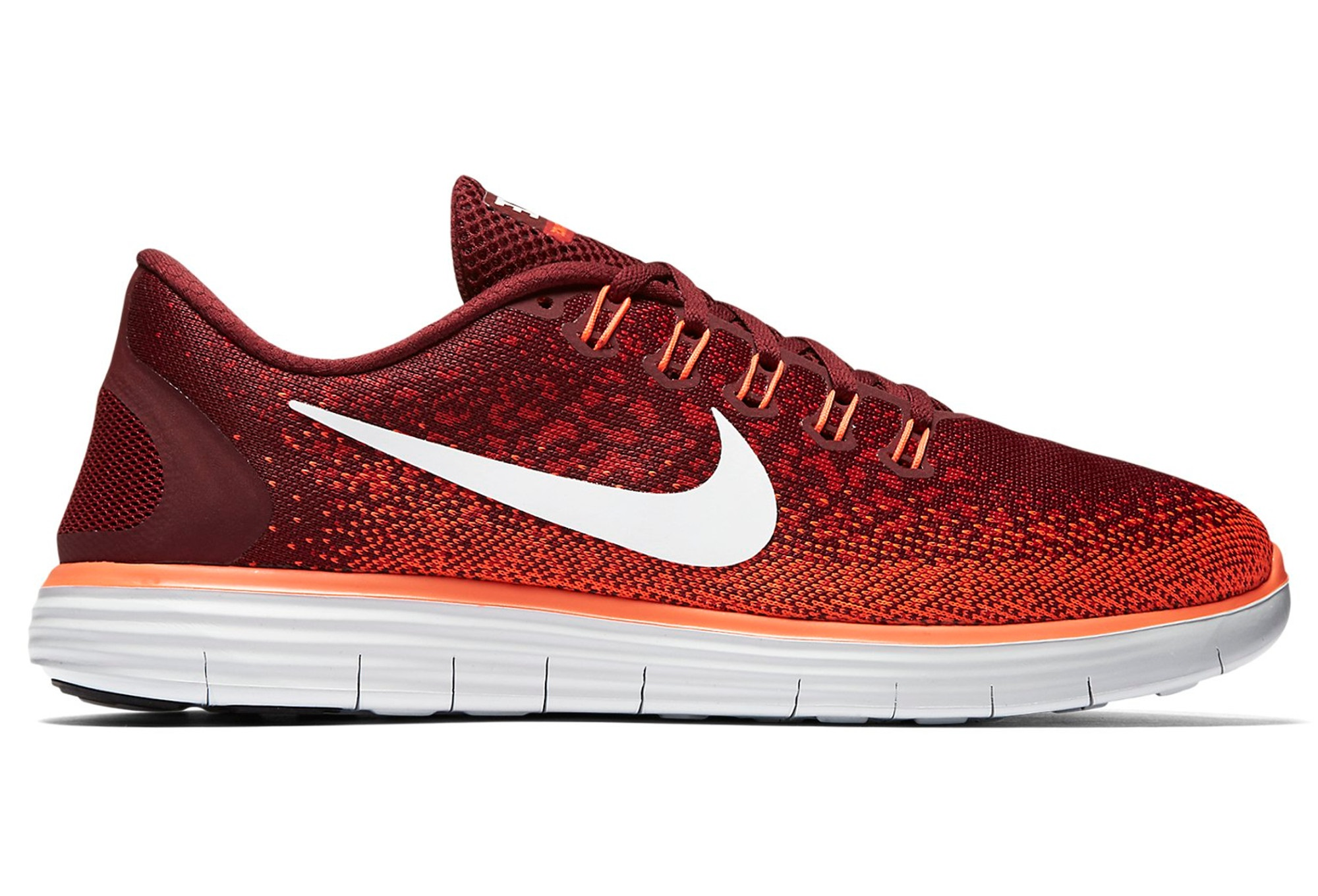 quality design 2430b a7f67 Chaussures de Running Nike FREE RUN DISTANCE Orange  Rouge