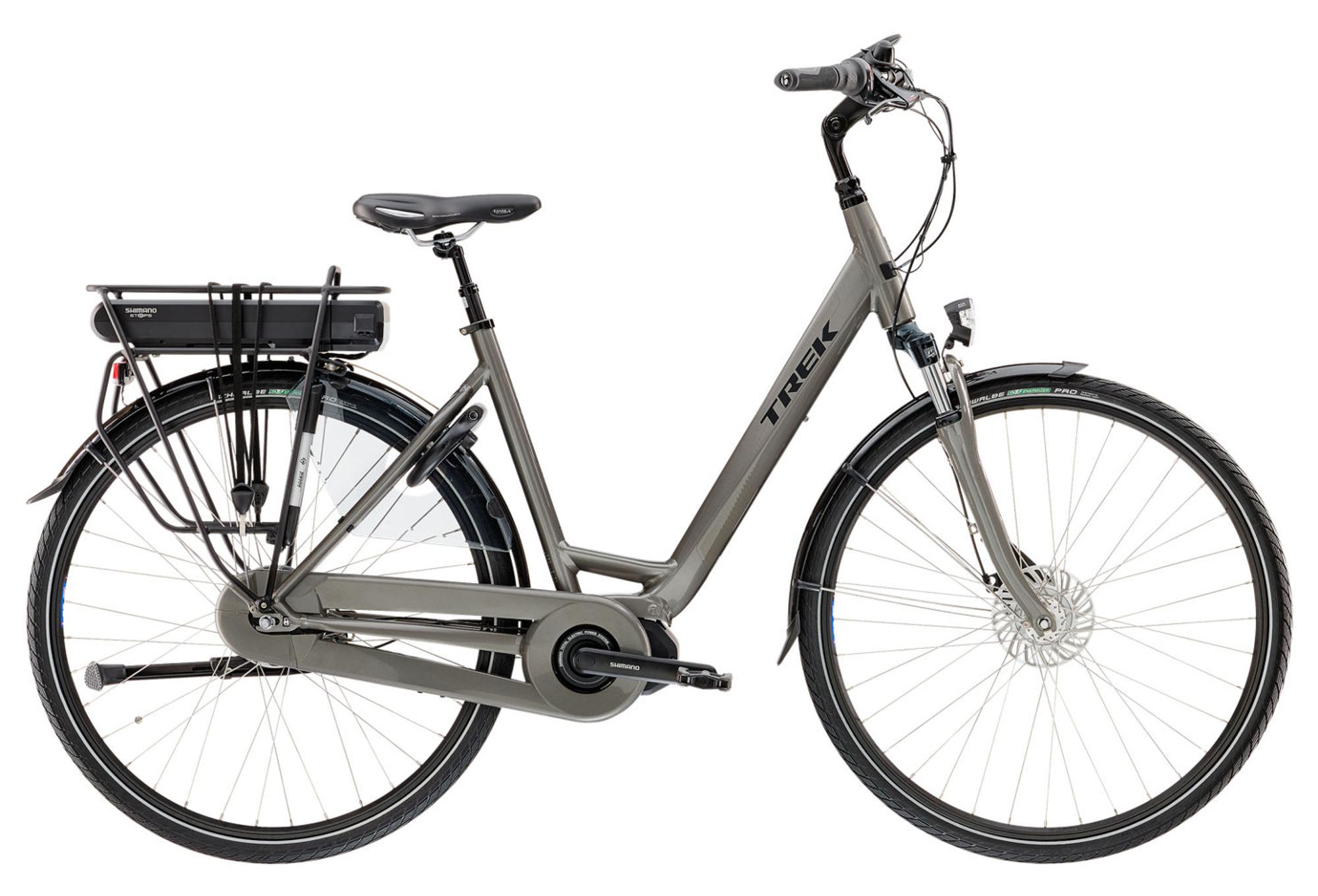 trek lm400 2017 e city bike shimano nexus 7 speed. Black Bedroom Furniture Sets. Home Design Ideas