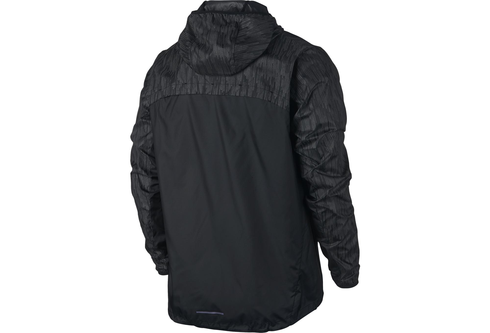 pre order many styles sale Veste Coupe-Vent Homme NIKE SHIELD FLASH Noir