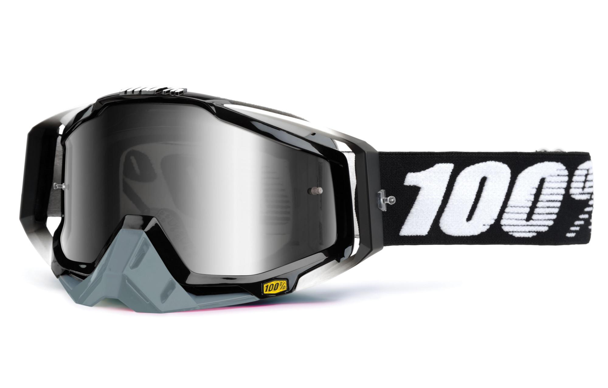 100 racecraft abyss goggle schwarzer rahmen spiegel. Black Bedroom Furniture Sets. Home Design Ideas