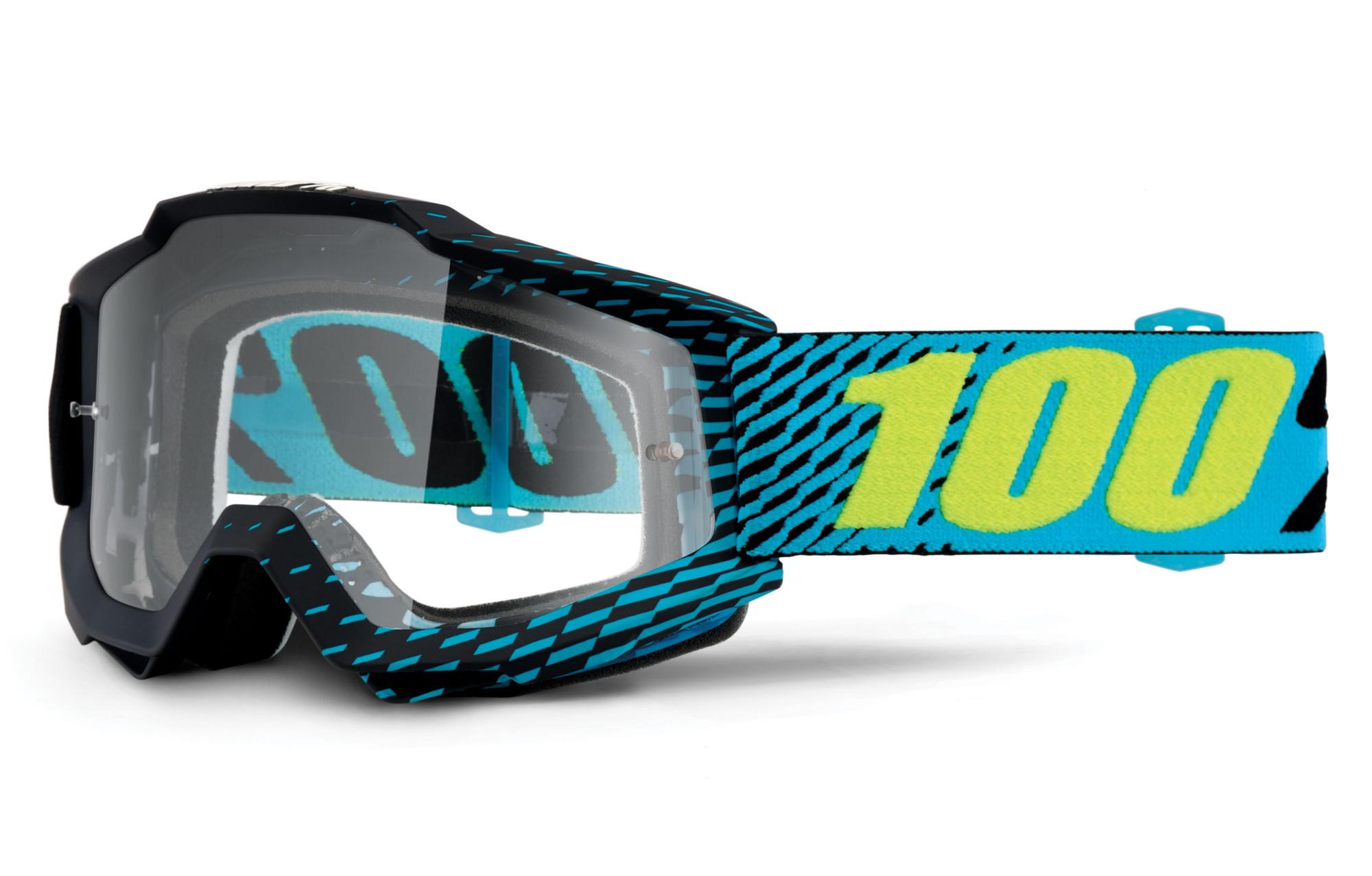 masque 100 accuri r core bleu cran transparent. Black Bedroom Furniture Sets. Home Design Ideas